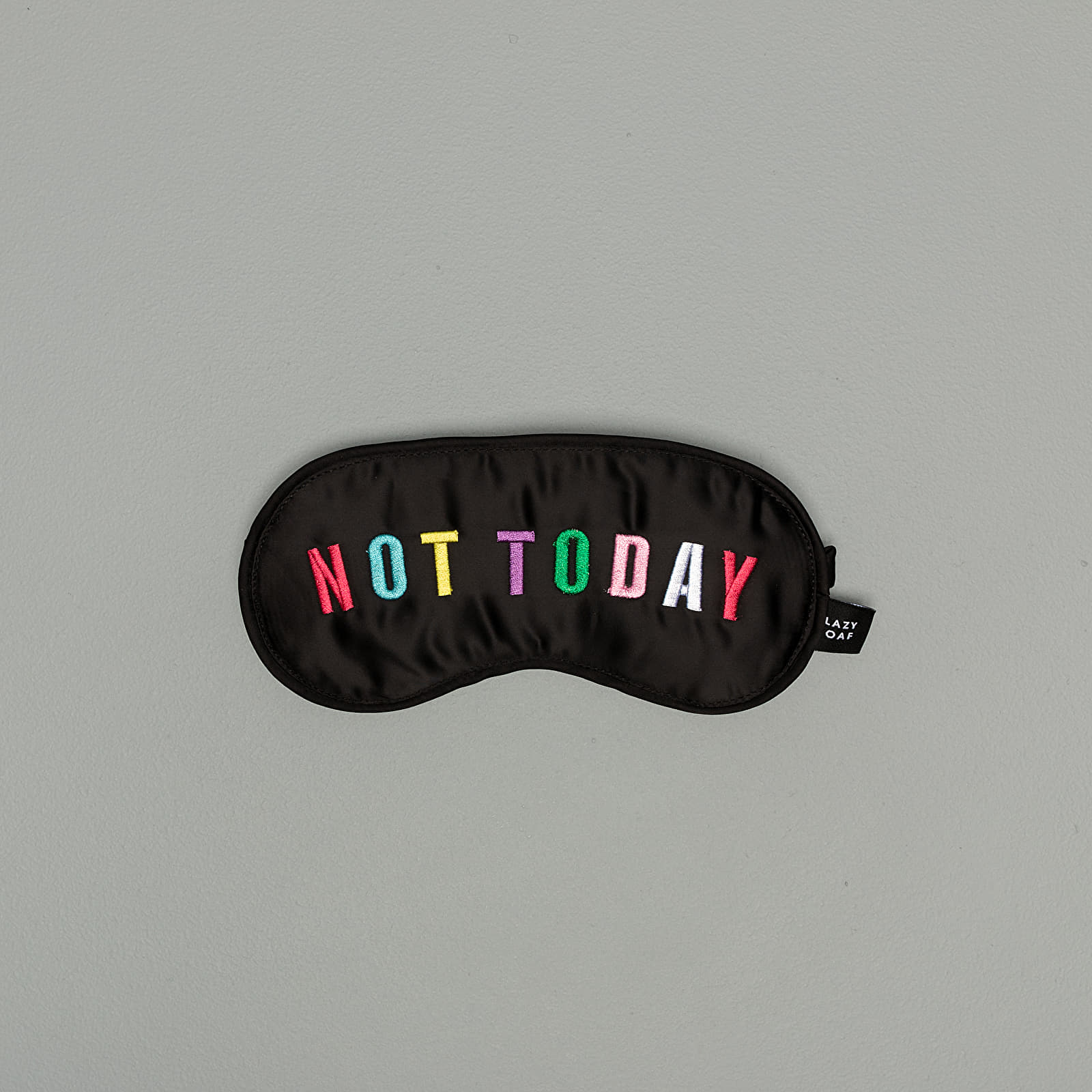 Fashion Accessories Lazy OAF Not Today Eye Mask Black