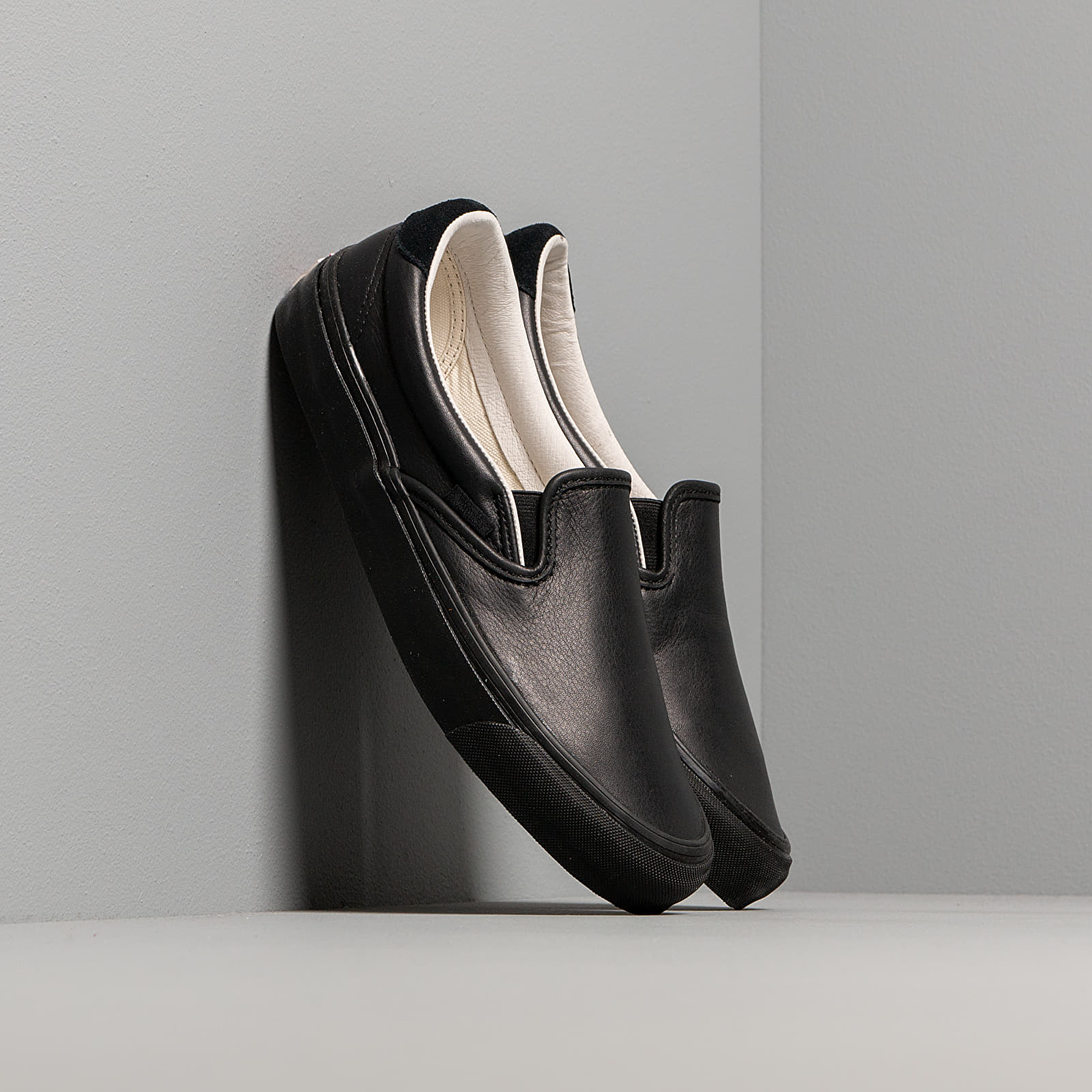 Männer Vans OG Slip-On 59 LX (Leather/ Suede) Black