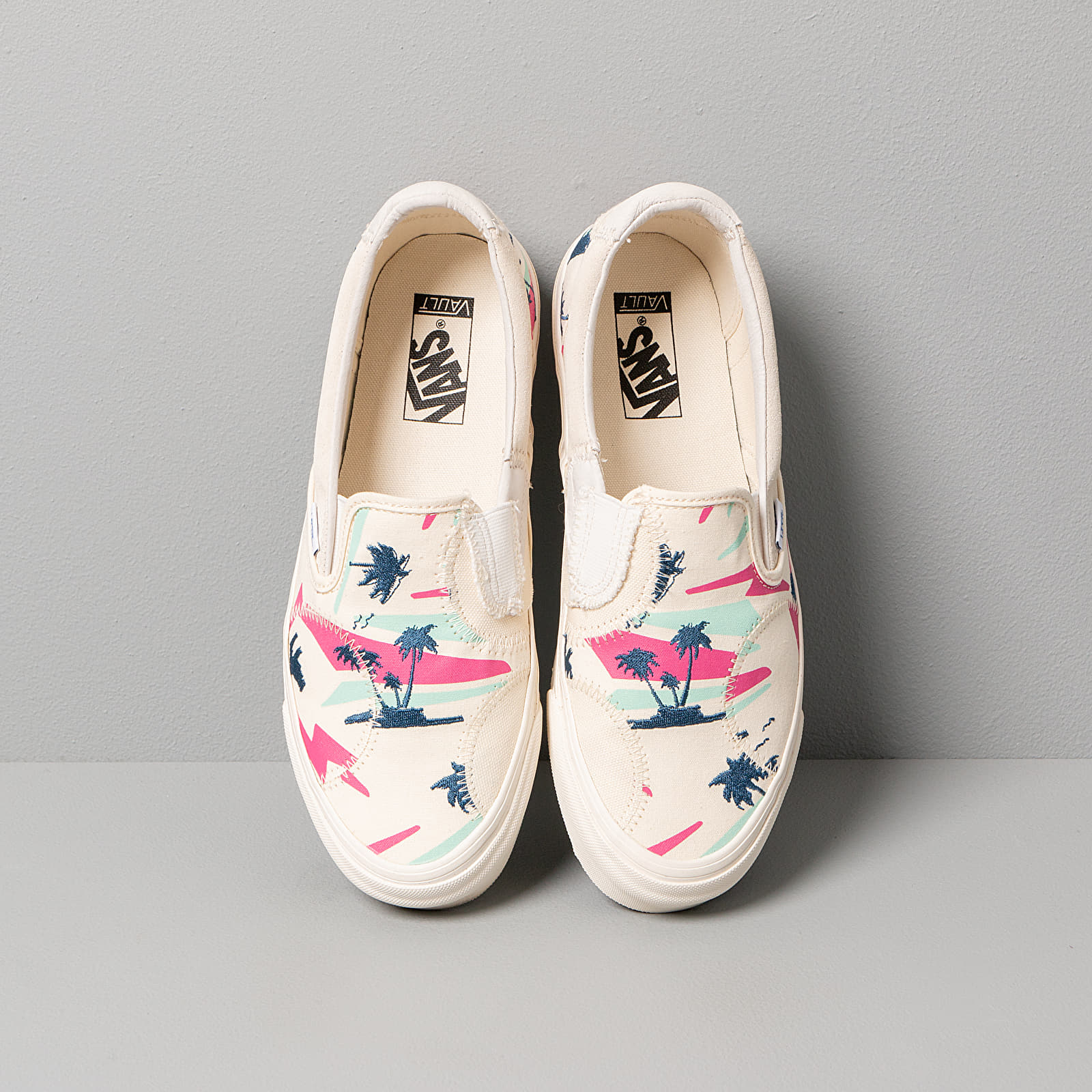 Vans Classic Slip On Bricolage LX (Embroidered Palm) Classic | Footshop