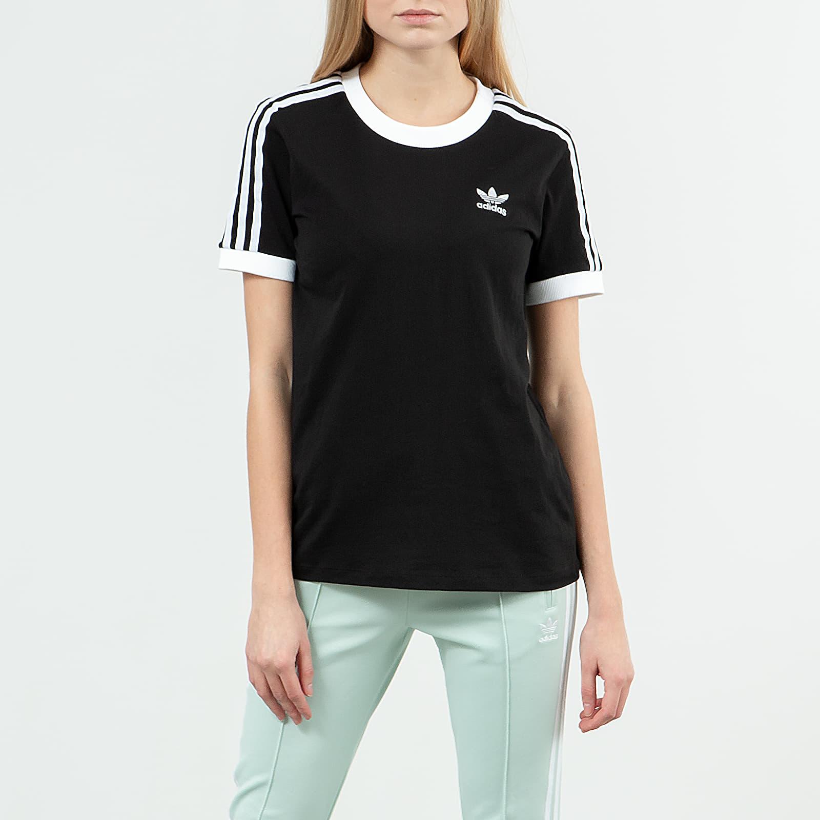 T-shirts adidas 3 Stripes Tee Black