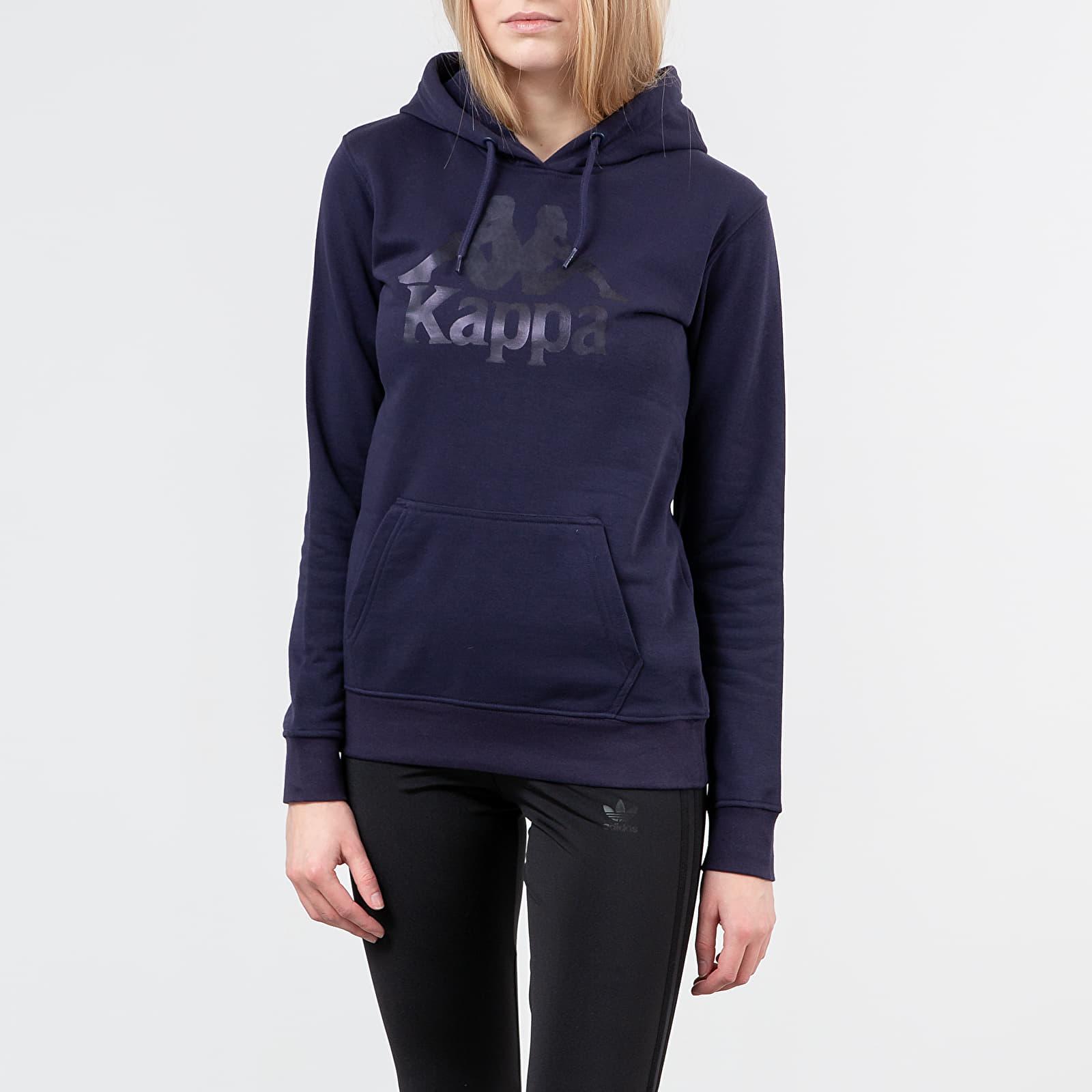 Sweatshirts Kappa Authentic Zouk Hoodie Blue Greystone