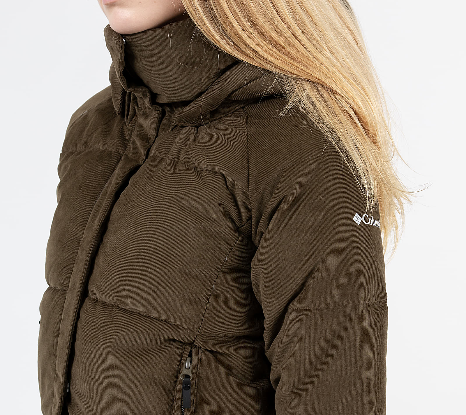 Columbia Ruby Falls Down Jacket Olive Green