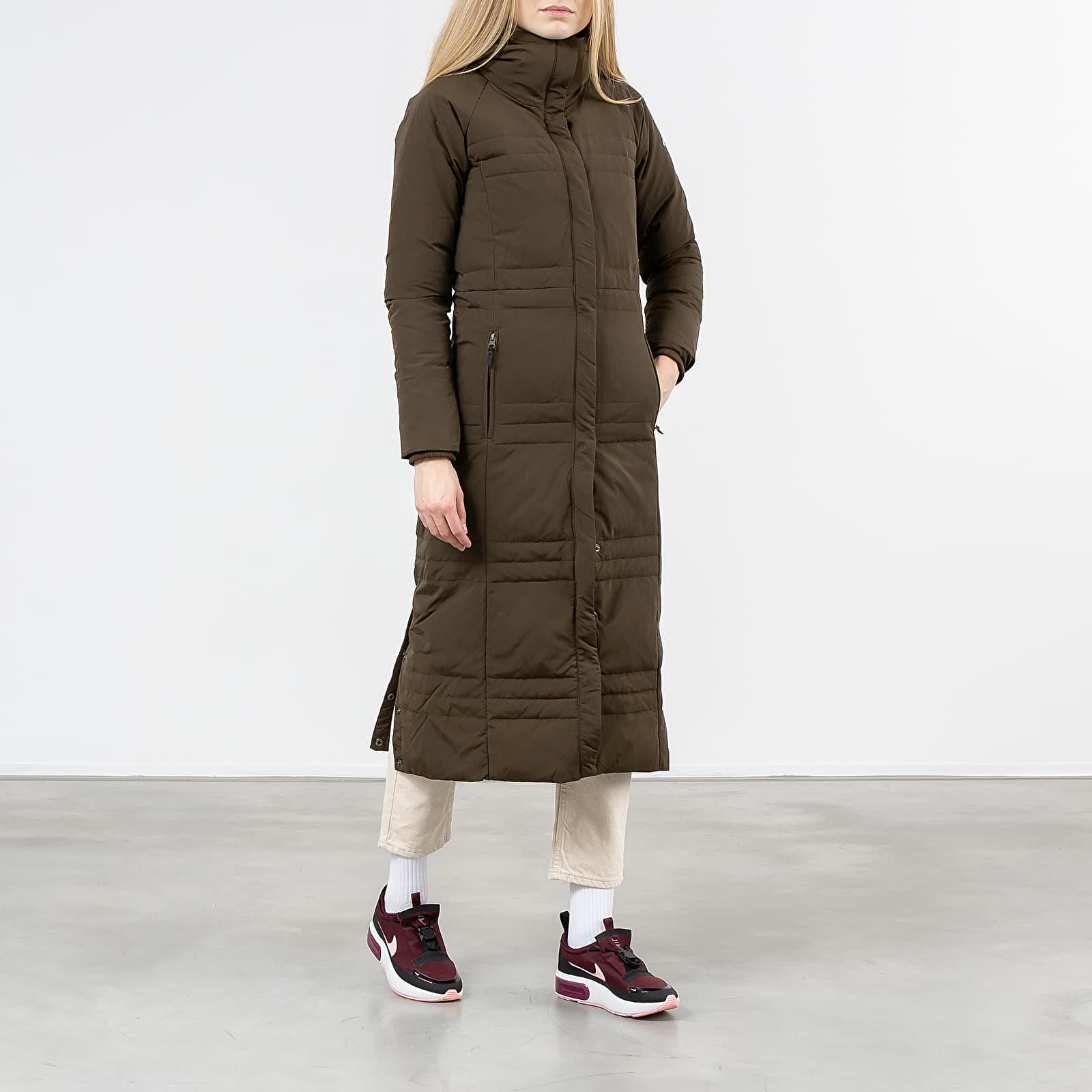 Kabáty Columbia Ruby Falls Down Long Jacket Olive Green
