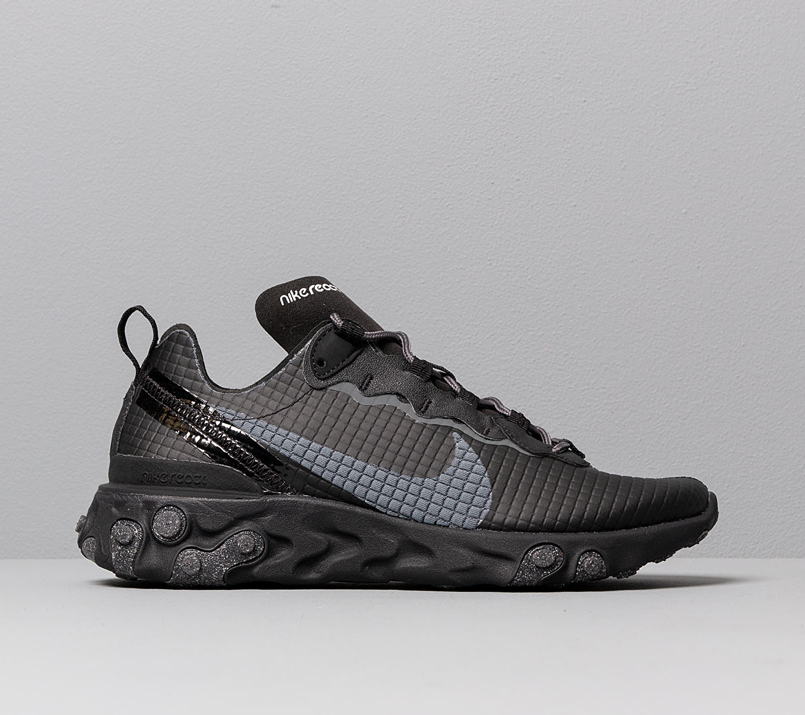 Nike React Element 55 Premium Black/ Dark Grey-Anthracite