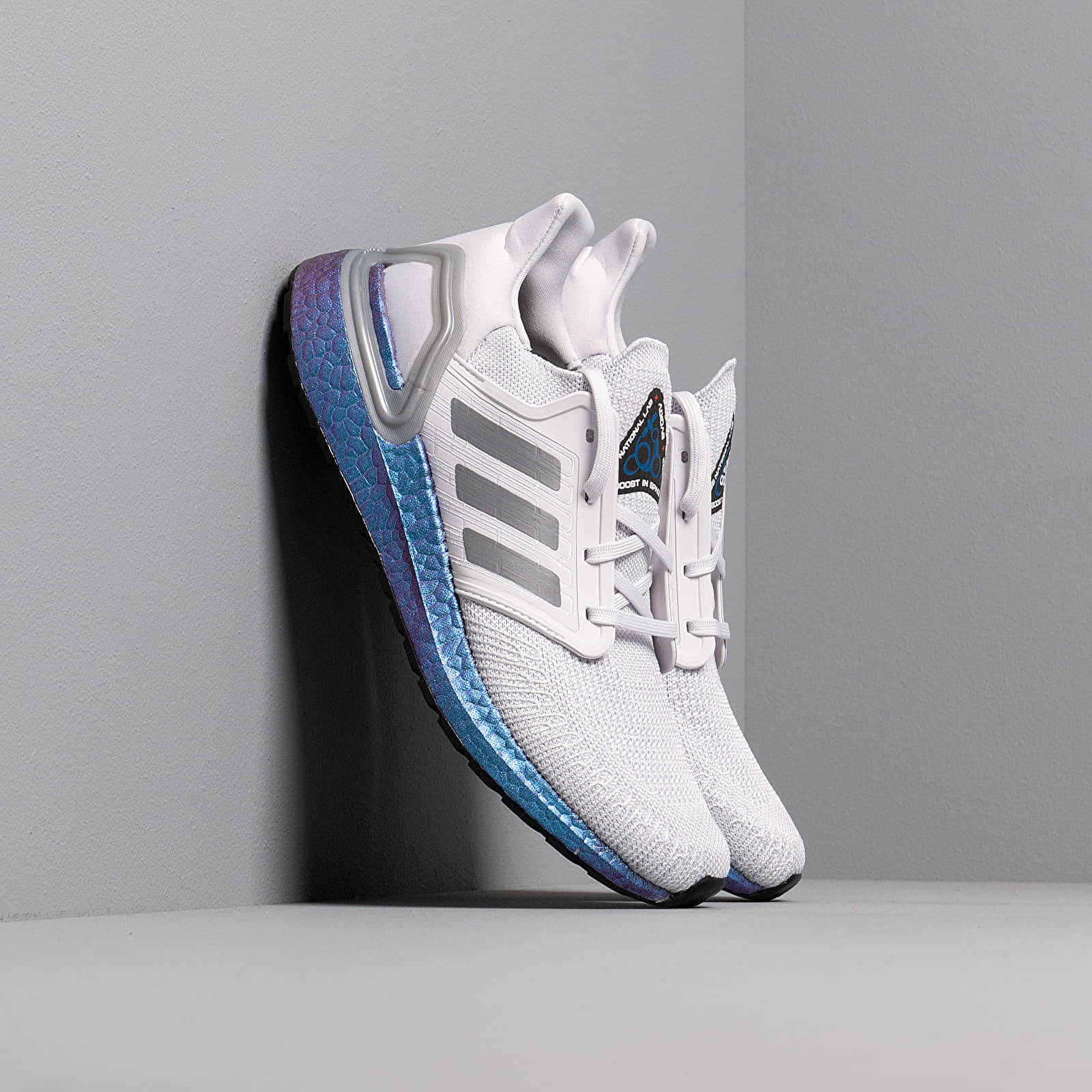 Buty męskie adidas UltraBOOST 20 Dash Grey/ Grey Three/ Blue Vime