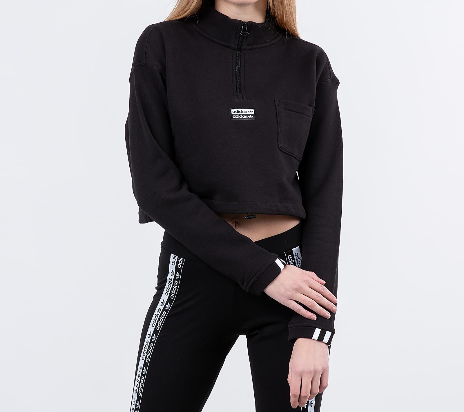 adidas Cropped Sweat Black