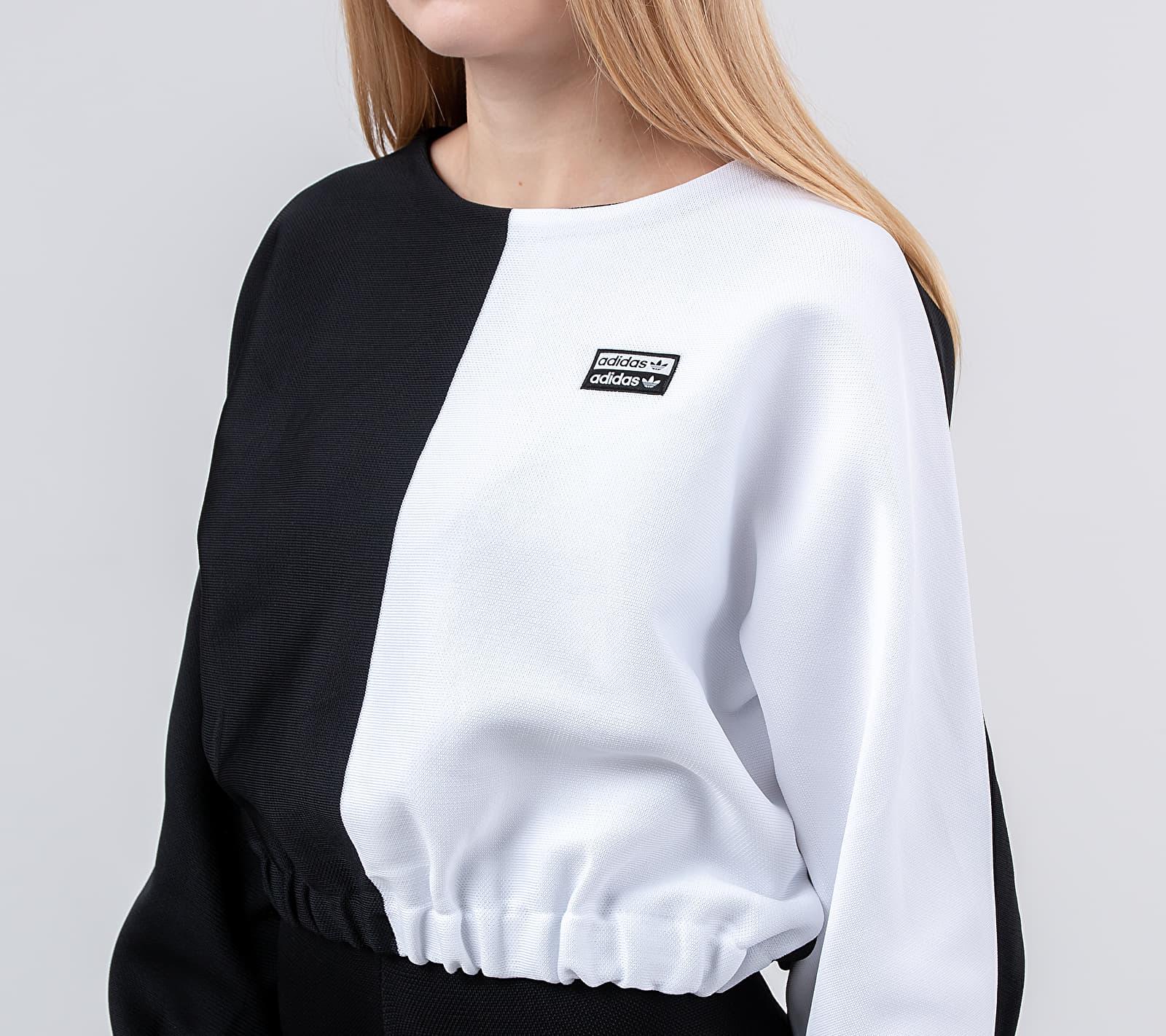 adidas Sweatshirt Black/ White