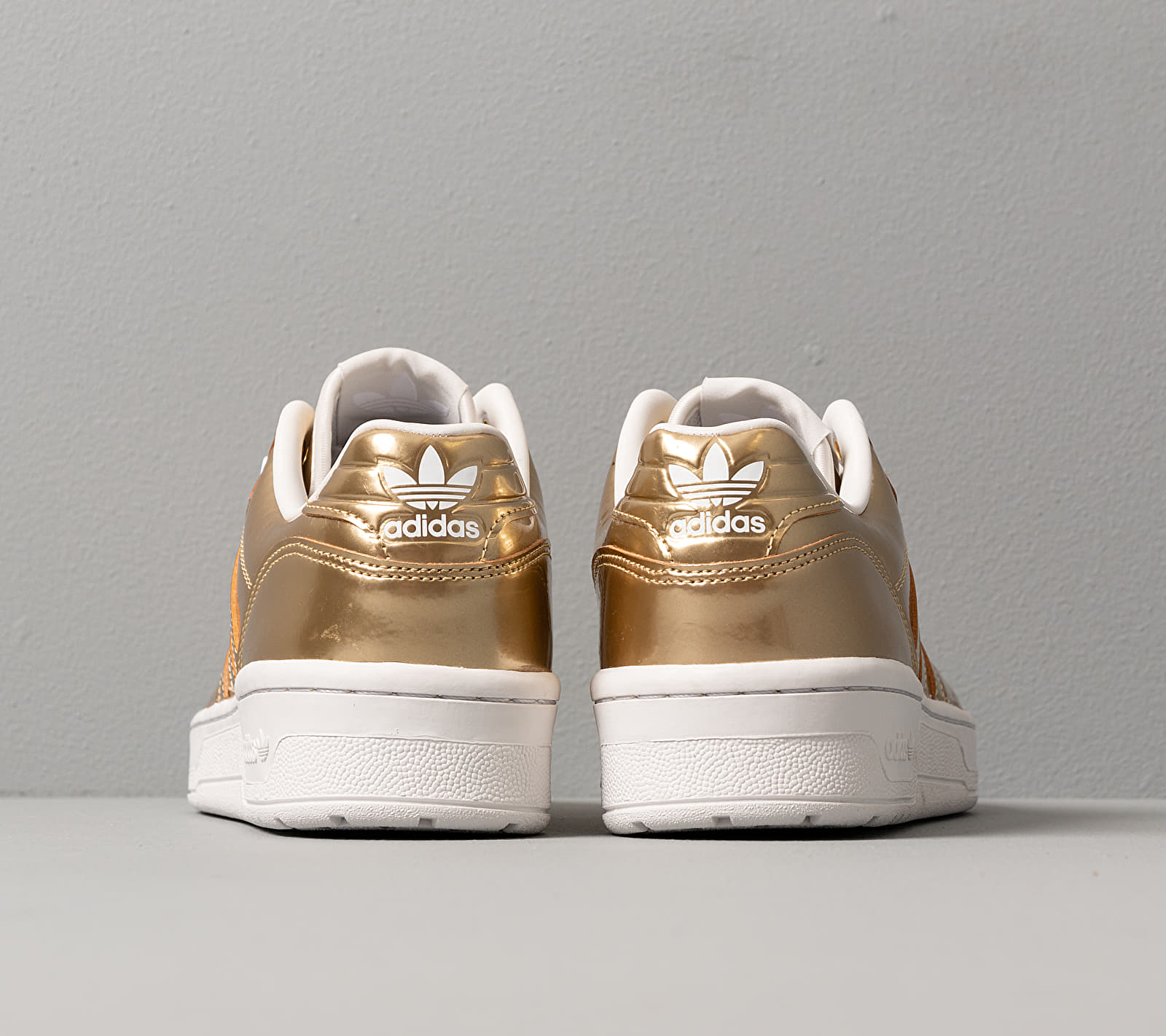 adidas Rivalry Low Gold Metalic/ Gold Metalic/ Crystal White, Yellow