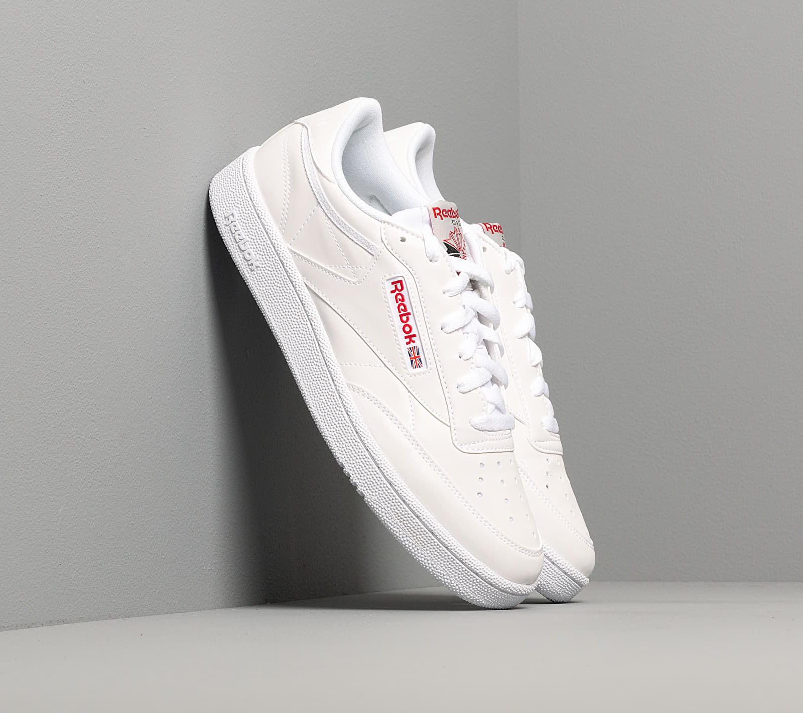 Reebok Club C 85 Mu White/ Skull Grey/ Red EUR 42.5