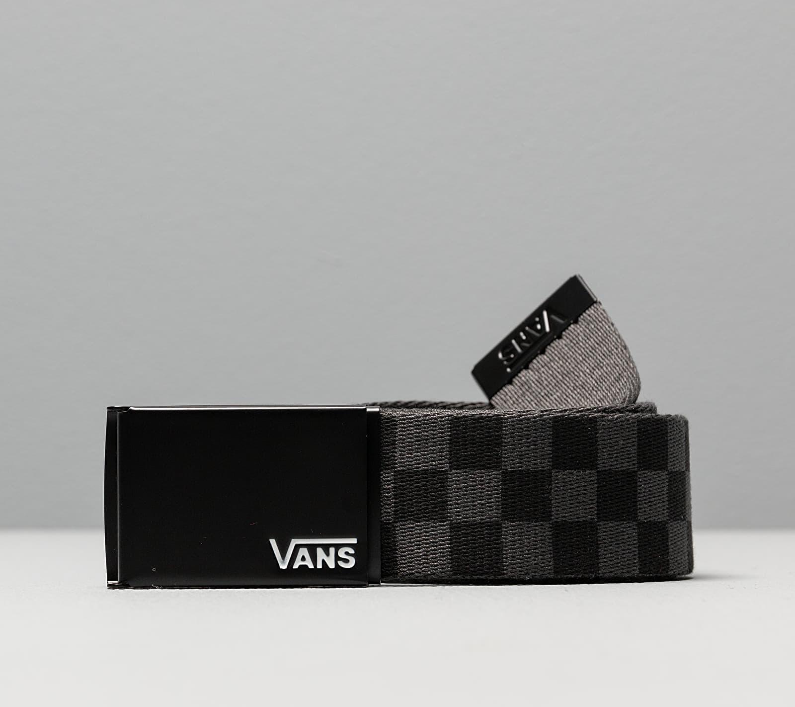 Vans Deppster II Web Belt Black-Charcoal Univerzálna veľkosť