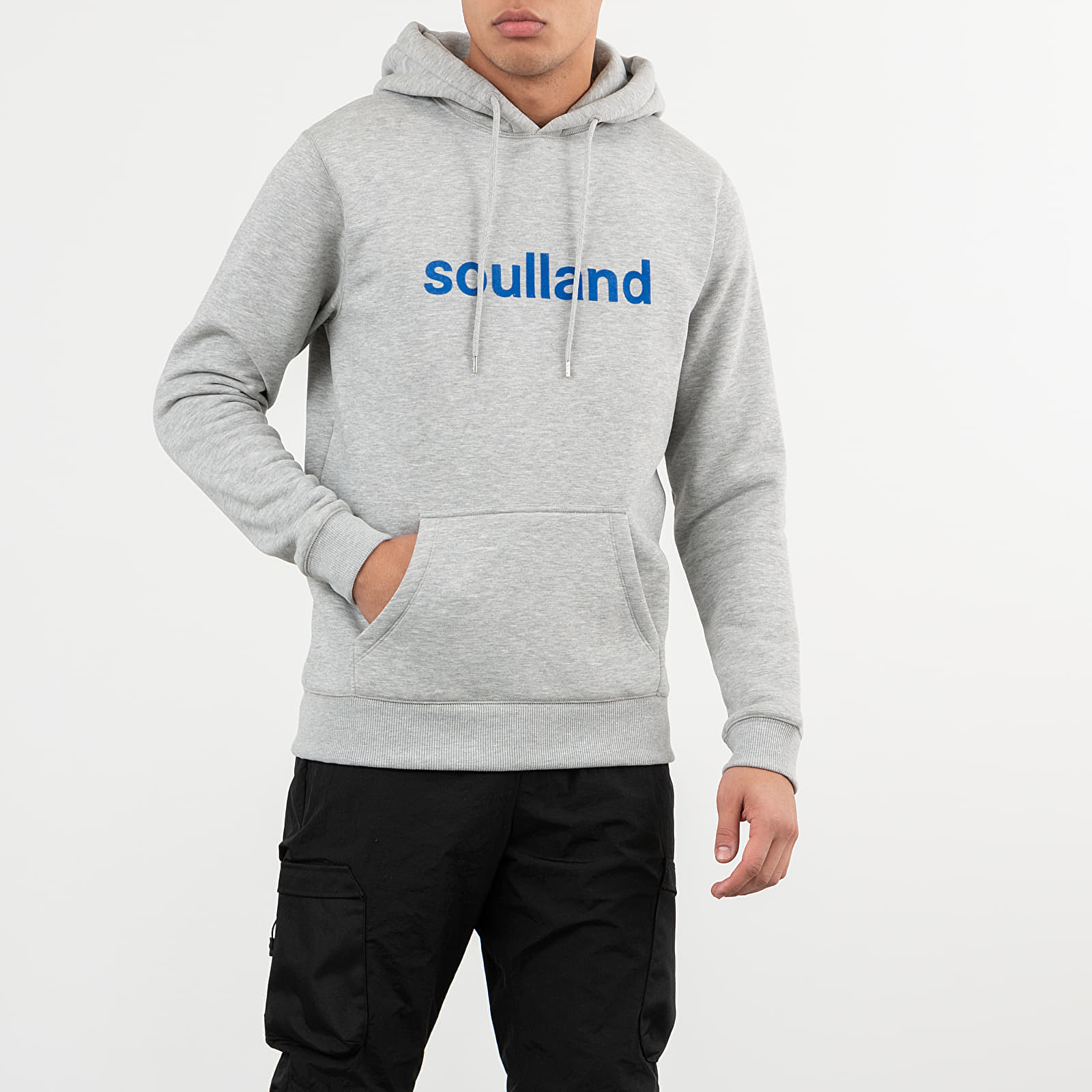 Sweatshirts Soulland Googie Hoodie Grey Melange