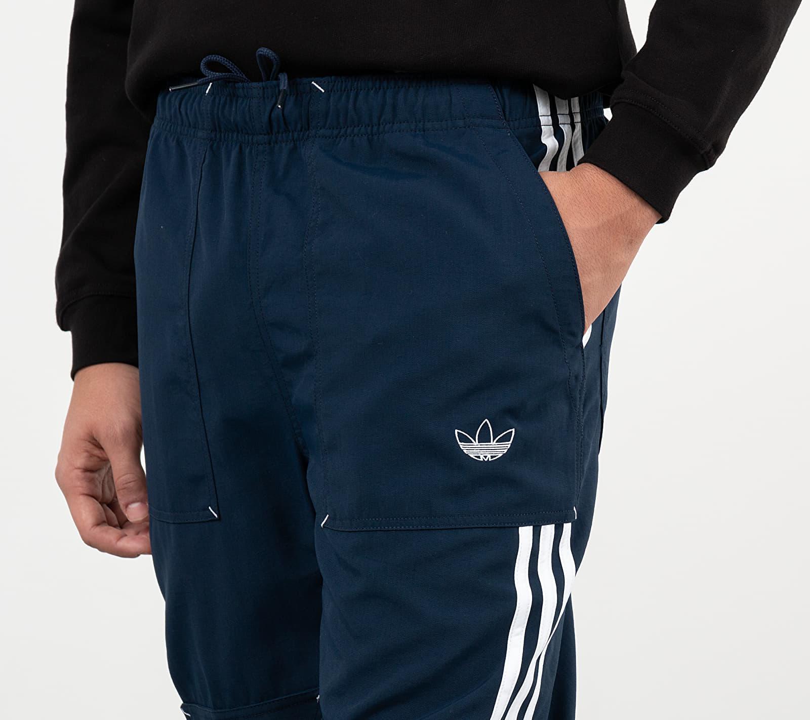 adidas Assymetric Workwear Pants Collegiate Navy/ White, Blue