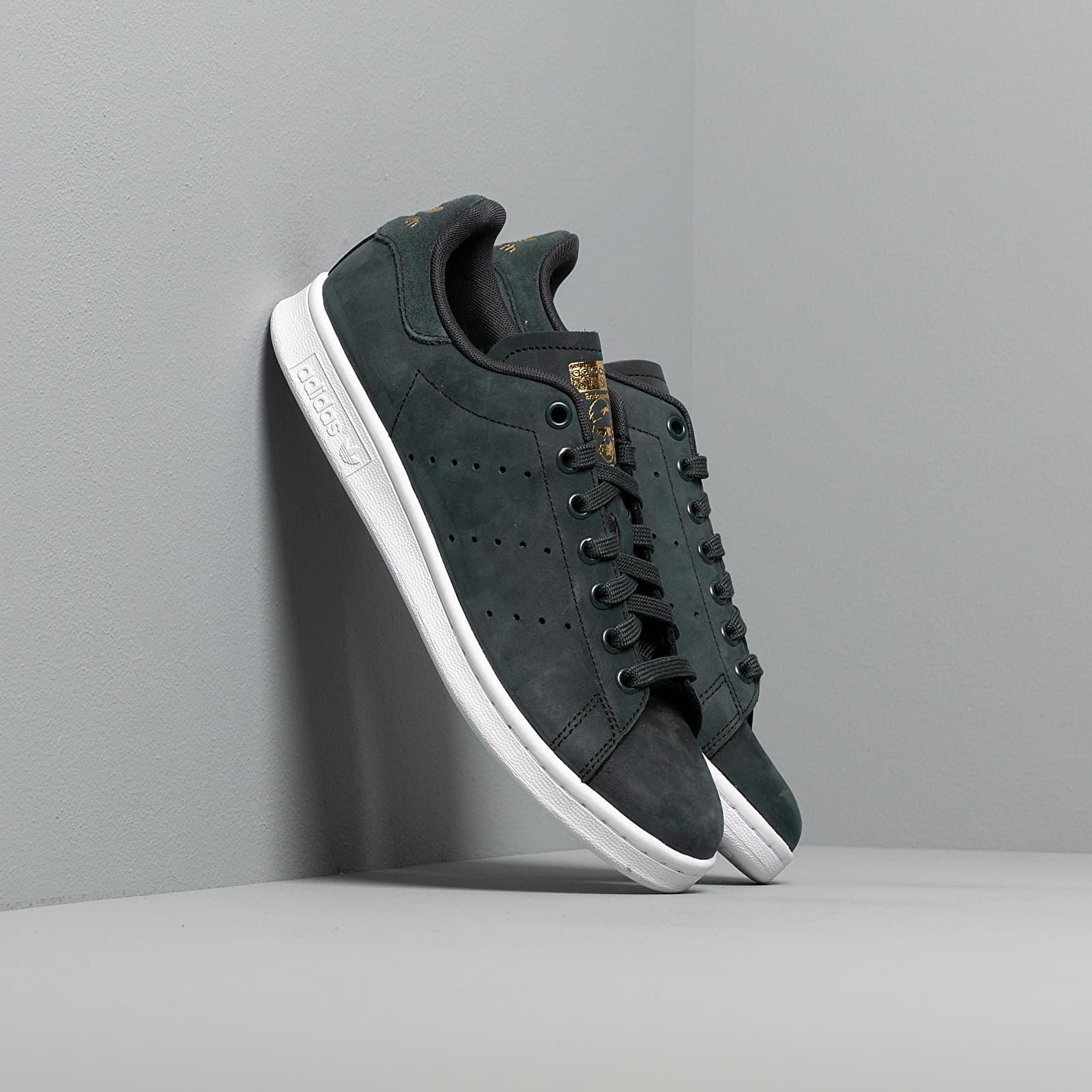 Frauen adidas Stan Smith W Core Black/ Ftw White/ Gold Metalic