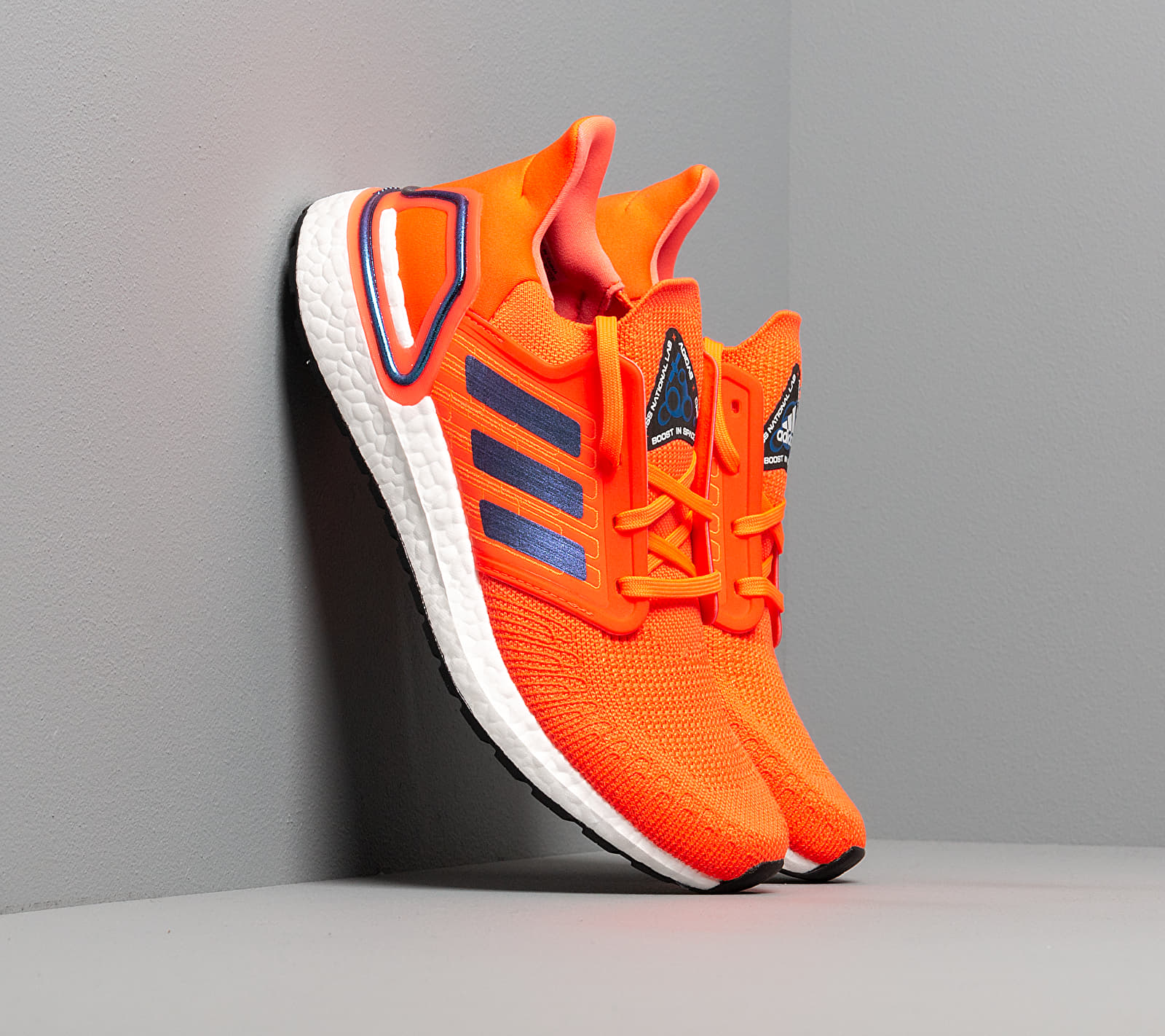 adidas UltraBOOST 20 Solid Red/ Blue Vime/ Ftw White EUR 40