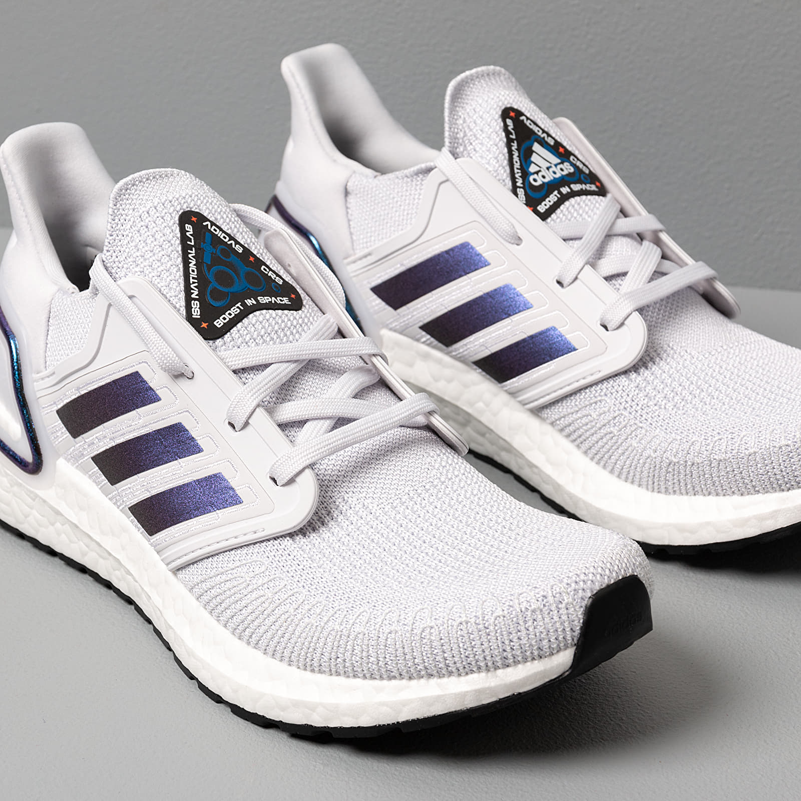 adidas UltraBOOST 20 Dash Grey Blue Vime Core Black | Footshop