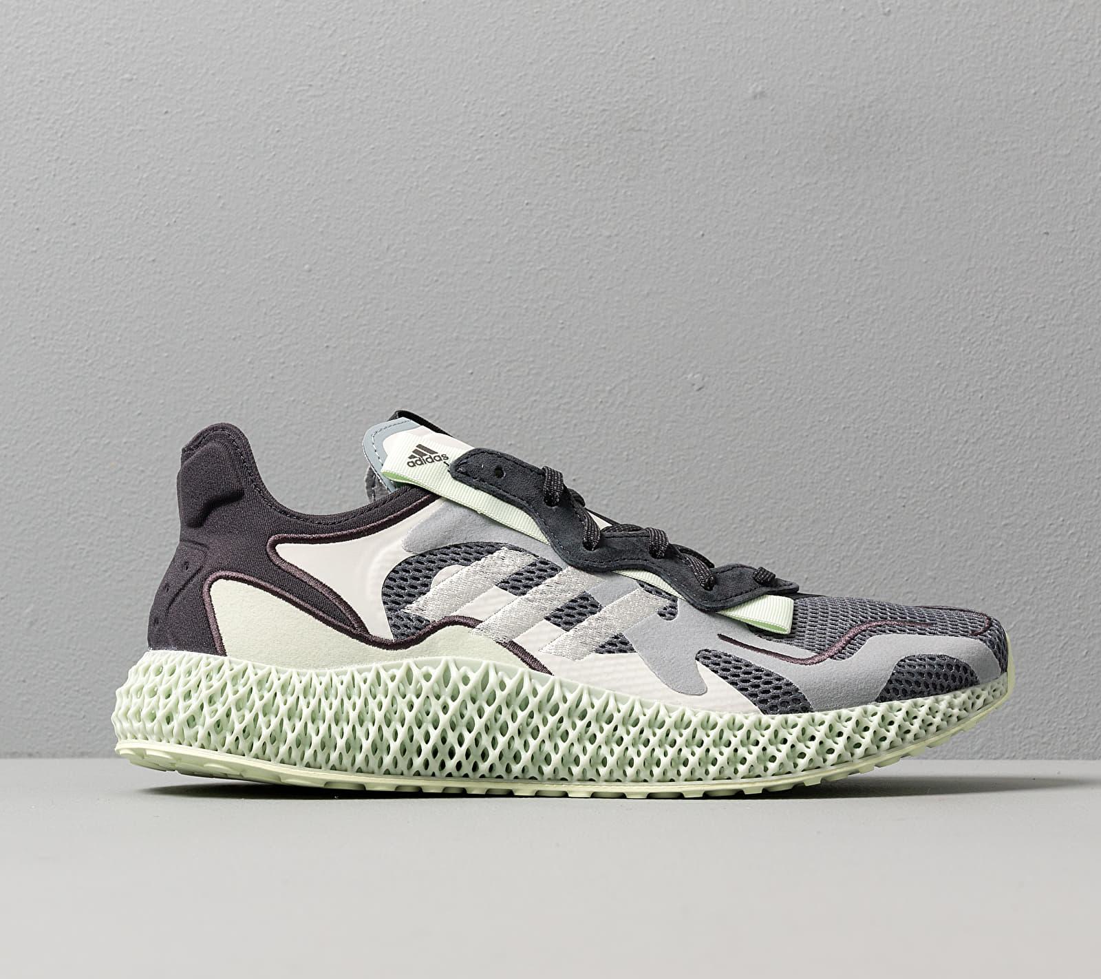 adidas Consortium Runner EVO 4D Onix/ White/ Light Green, Gray
