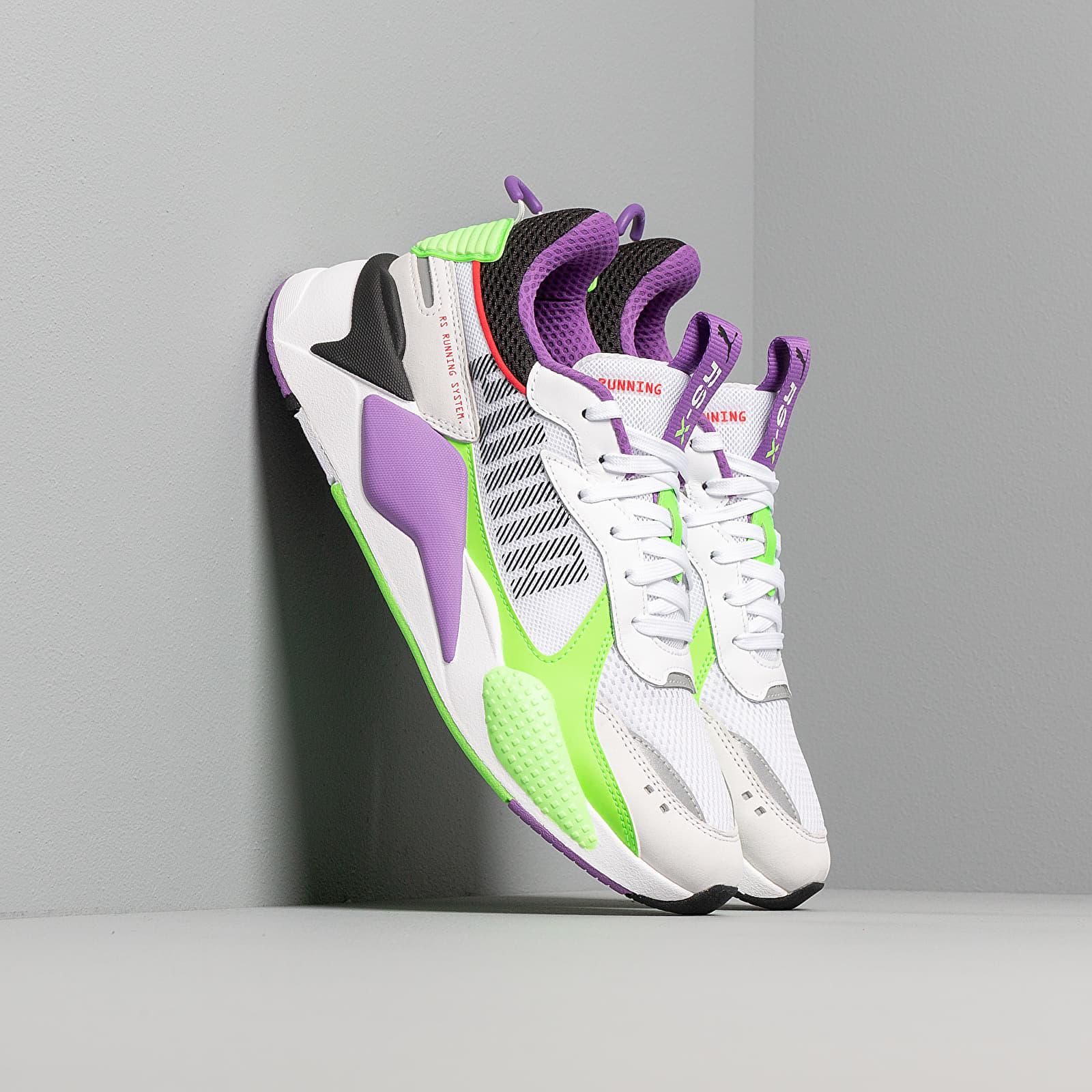 Męskie sneakers Puma RS-X Bold Puma White/ Green Gecko/ Royal Lilac