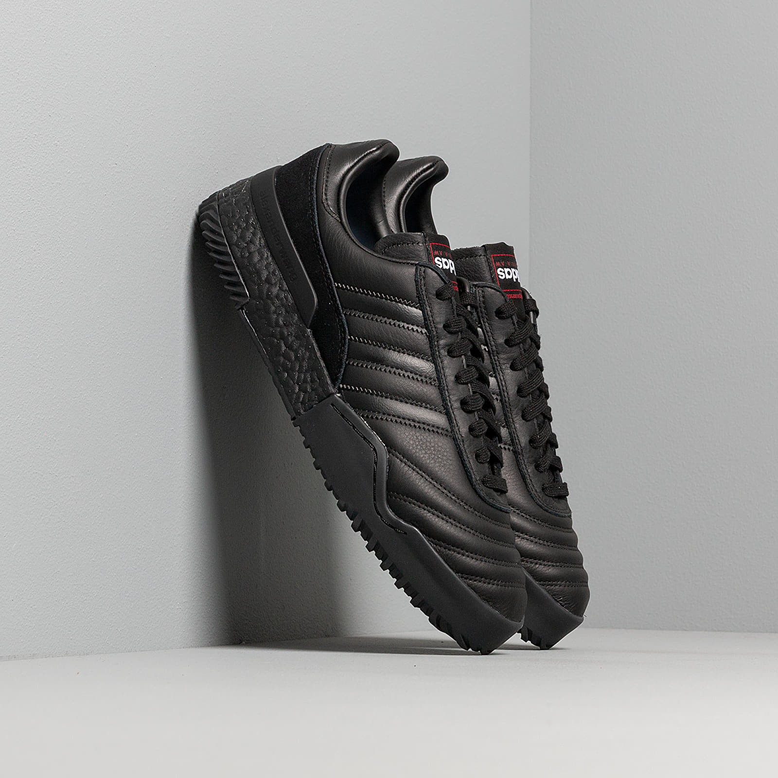 Chaussures et baskets homme adidas x Alexander Wang Bball Soccer Core Black/ Core Black/ Core Black