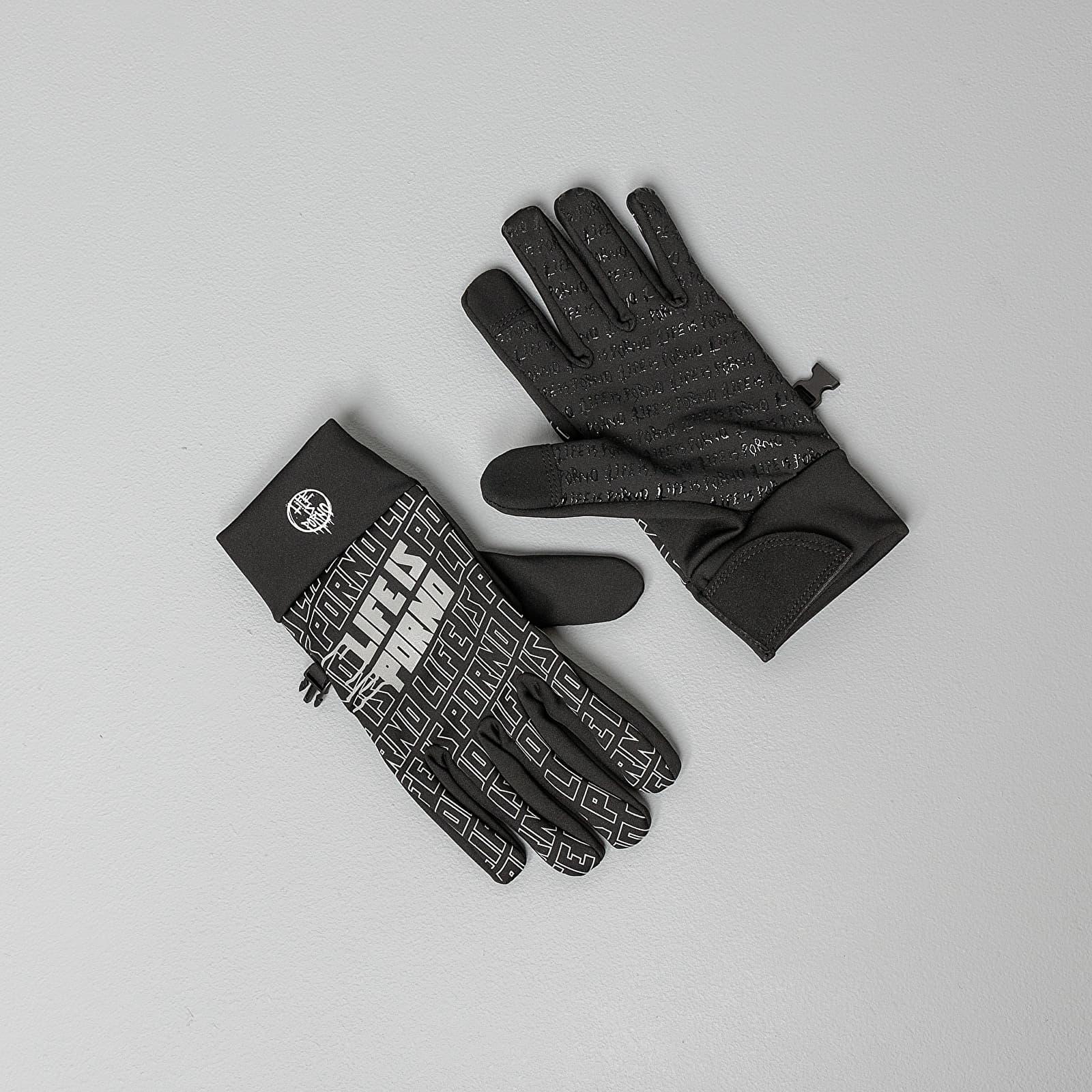 Kesztyű LIFE IS PORNO Flex Porno Gloves Black