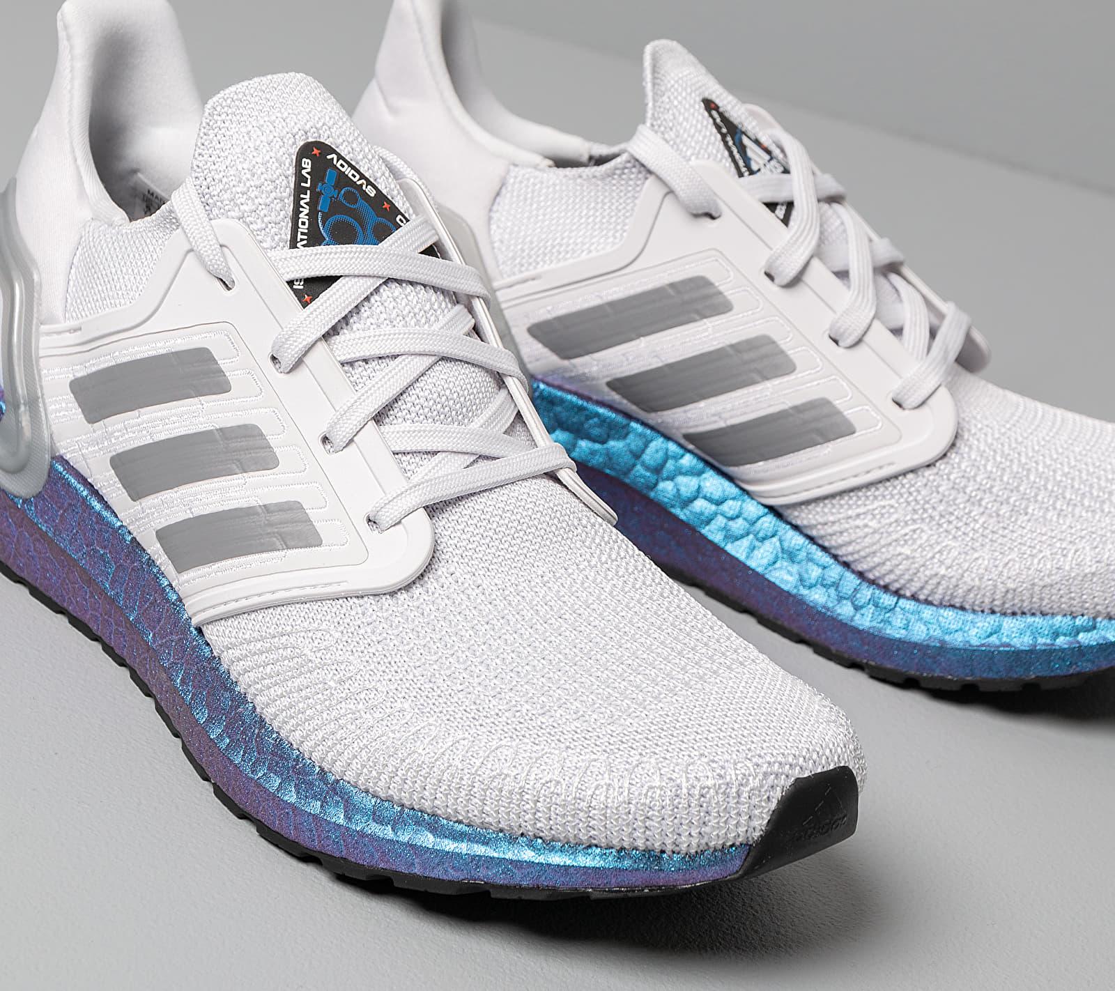 adidas UltraBOOST 20 W Dash Grey/ Grey Three/ Blue Vime, Gray