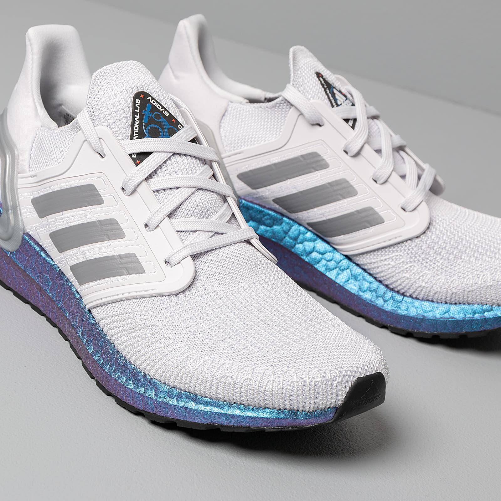 adidas UltraBOOST 20 W Dash Grey Grey Three Blue Vime | Footshop