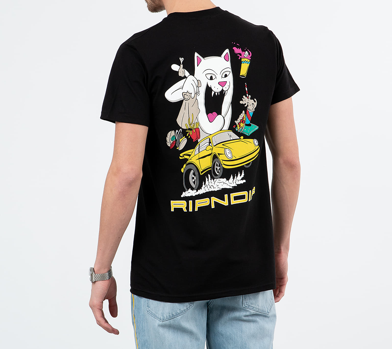 RIPNDIP Open Roads Tee Black