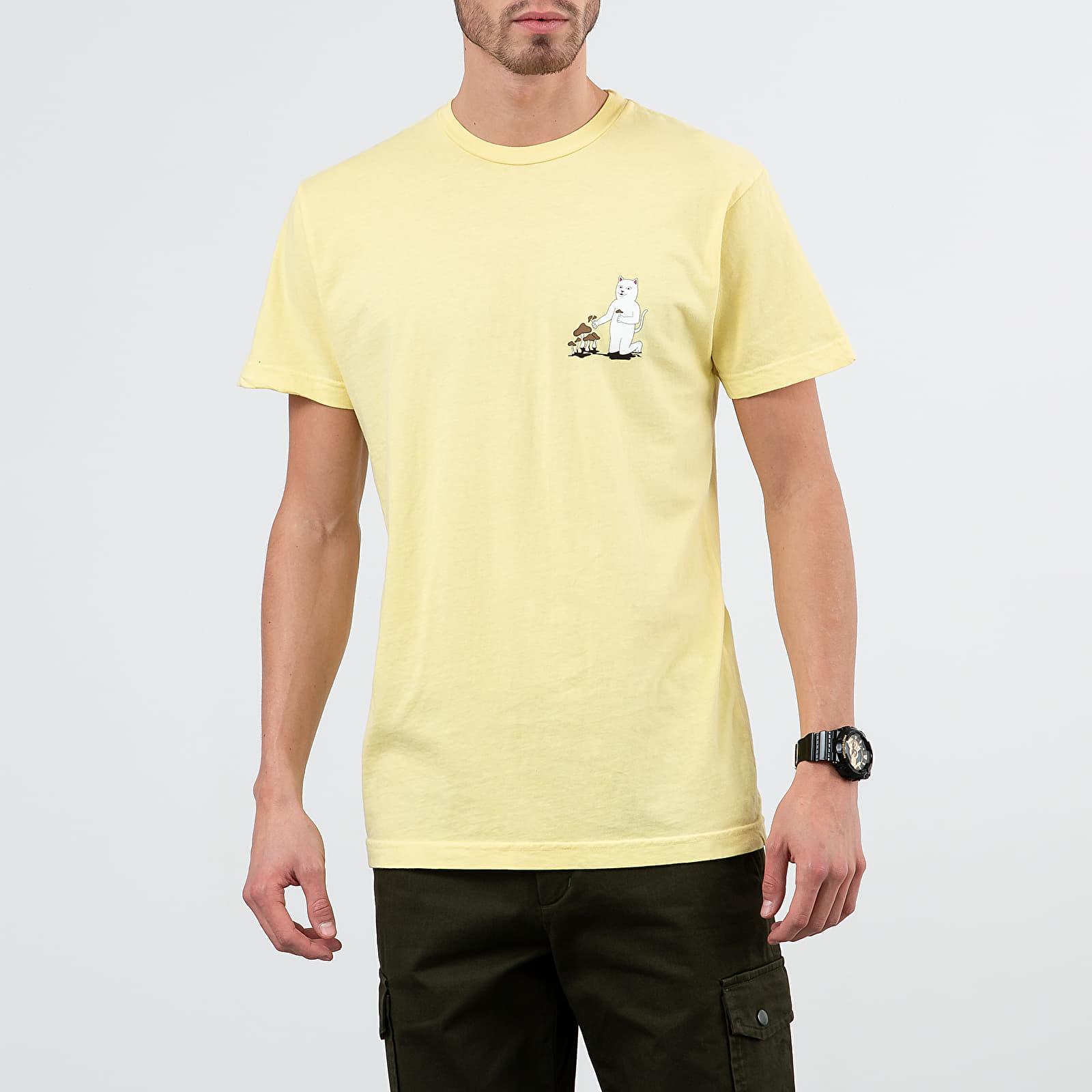 Tricouri RIPNDIP Park Day Tee Light Yellow