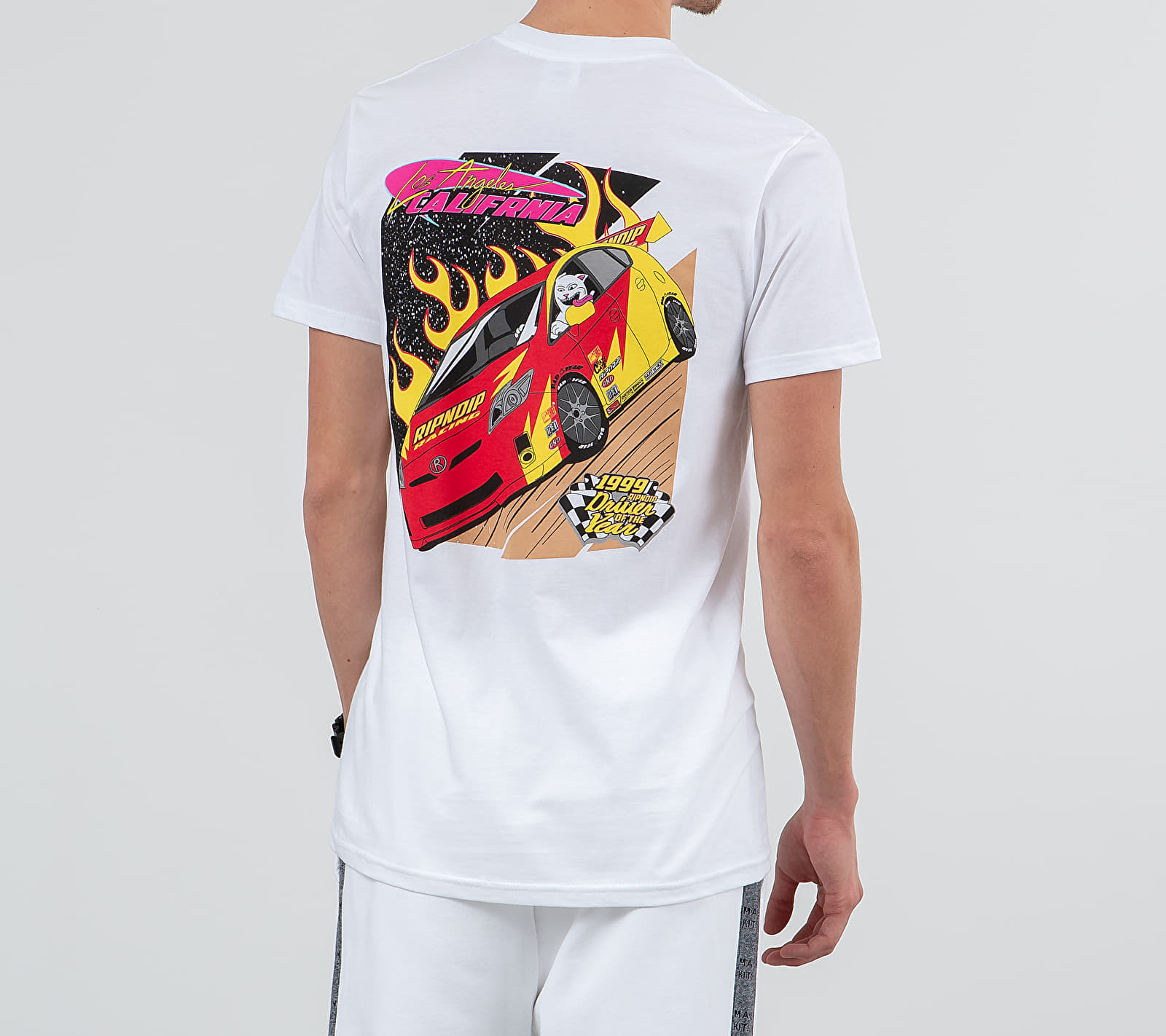 RIPNDIP Racing Tee White