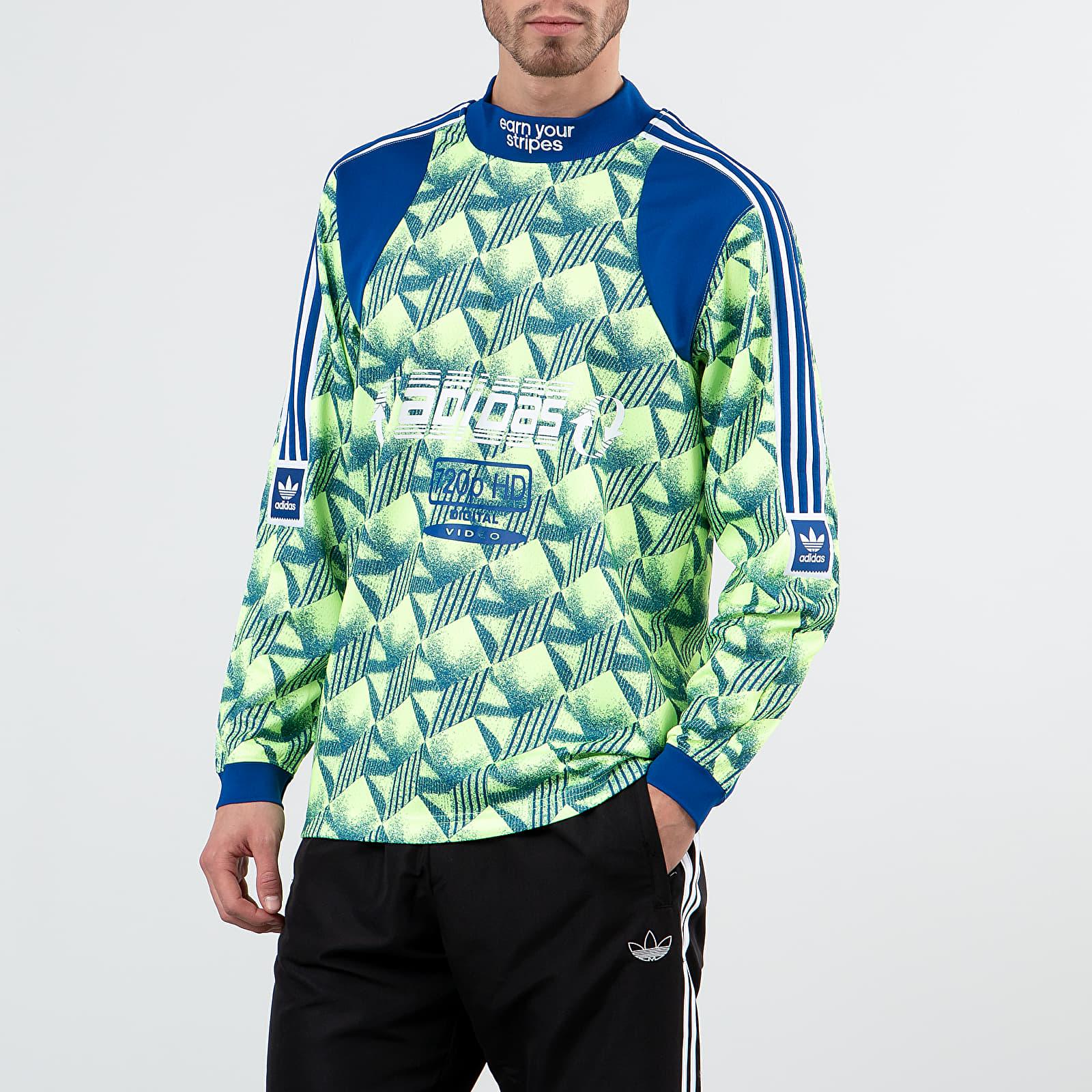 Koszulki adidas Bootleague Jersey Hi-Res Yellow/ Core Royal