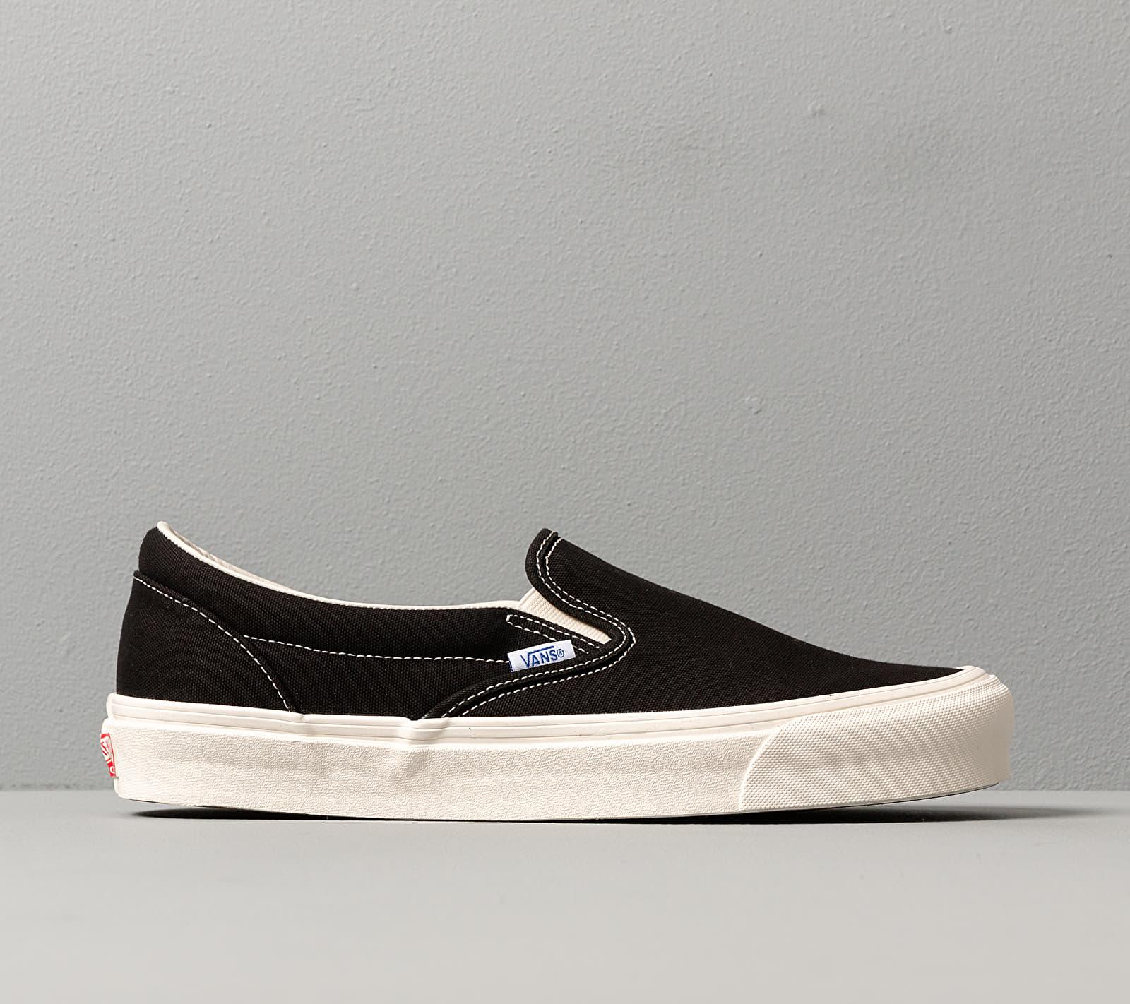 Vans OG Classic Slip On LX (Canvas) Black footshop.eu