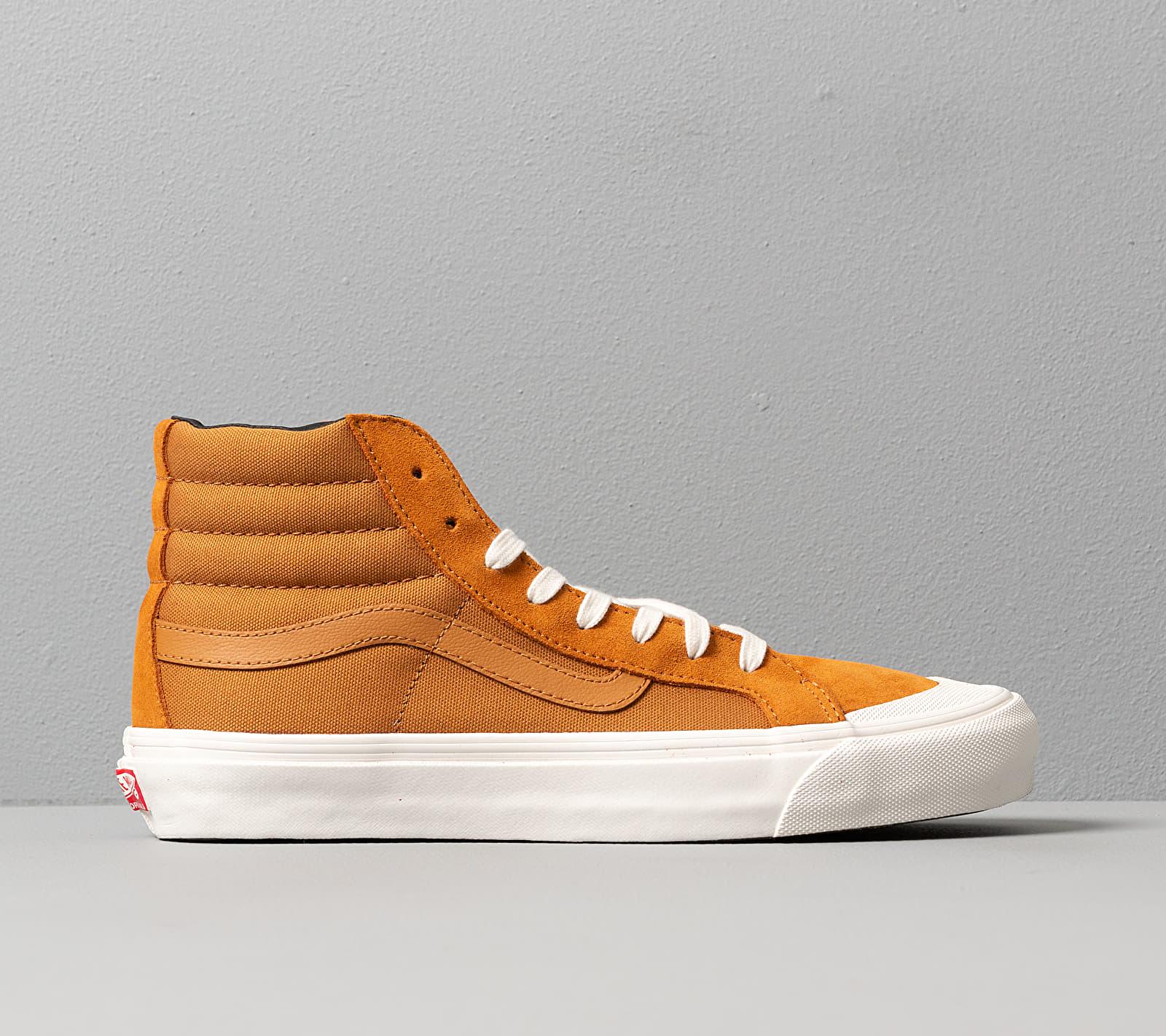 Vans OG Style 138 LX (Suede/ Canvas) Buckthorn, Orange