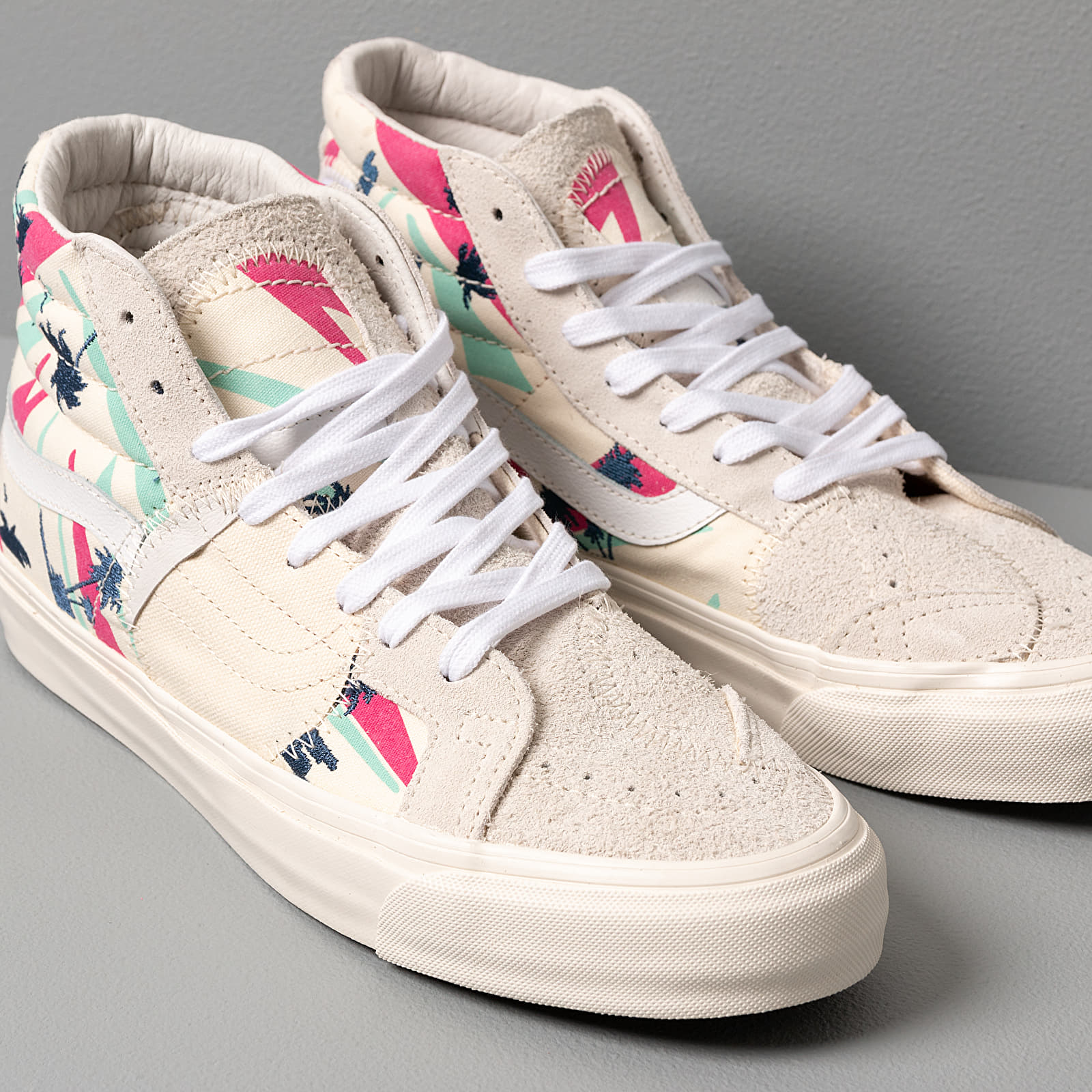 Vans SK8 Hi Bricolage LX (Embroidered Palm) Classic | Footshop