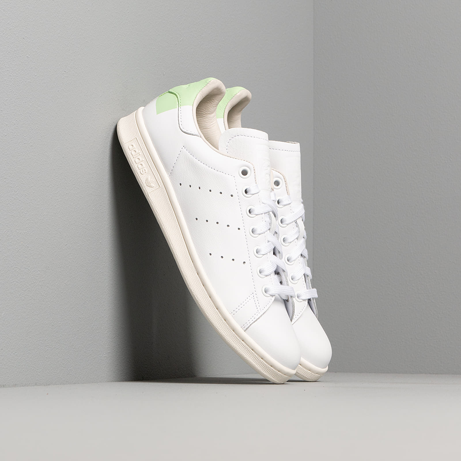 Women's shoes adidas Stan Smith W Ftw White/ Glow Green/ Off White