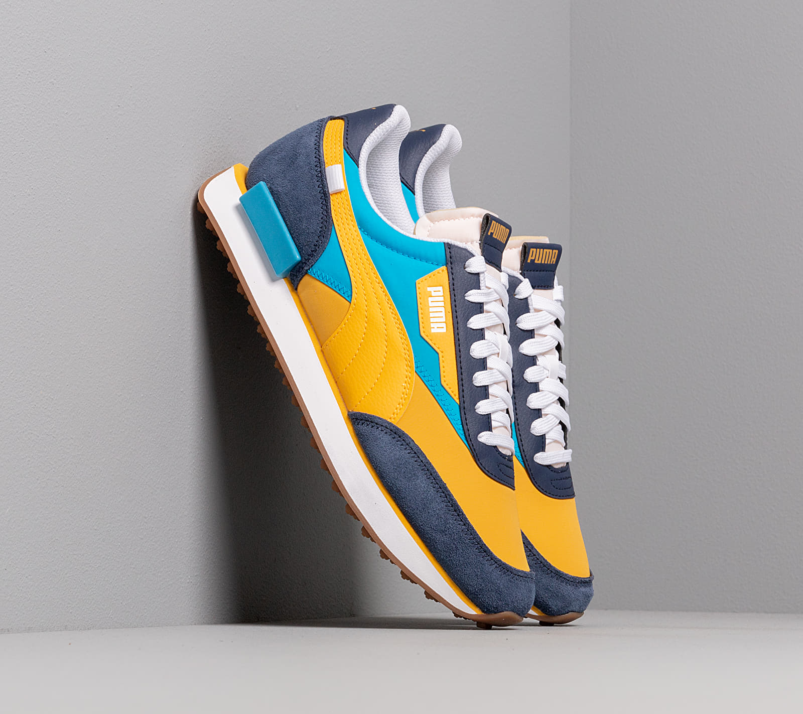 Puma Future Rider OG Pack Peacoat/ Spectra Yellow, Multicolour