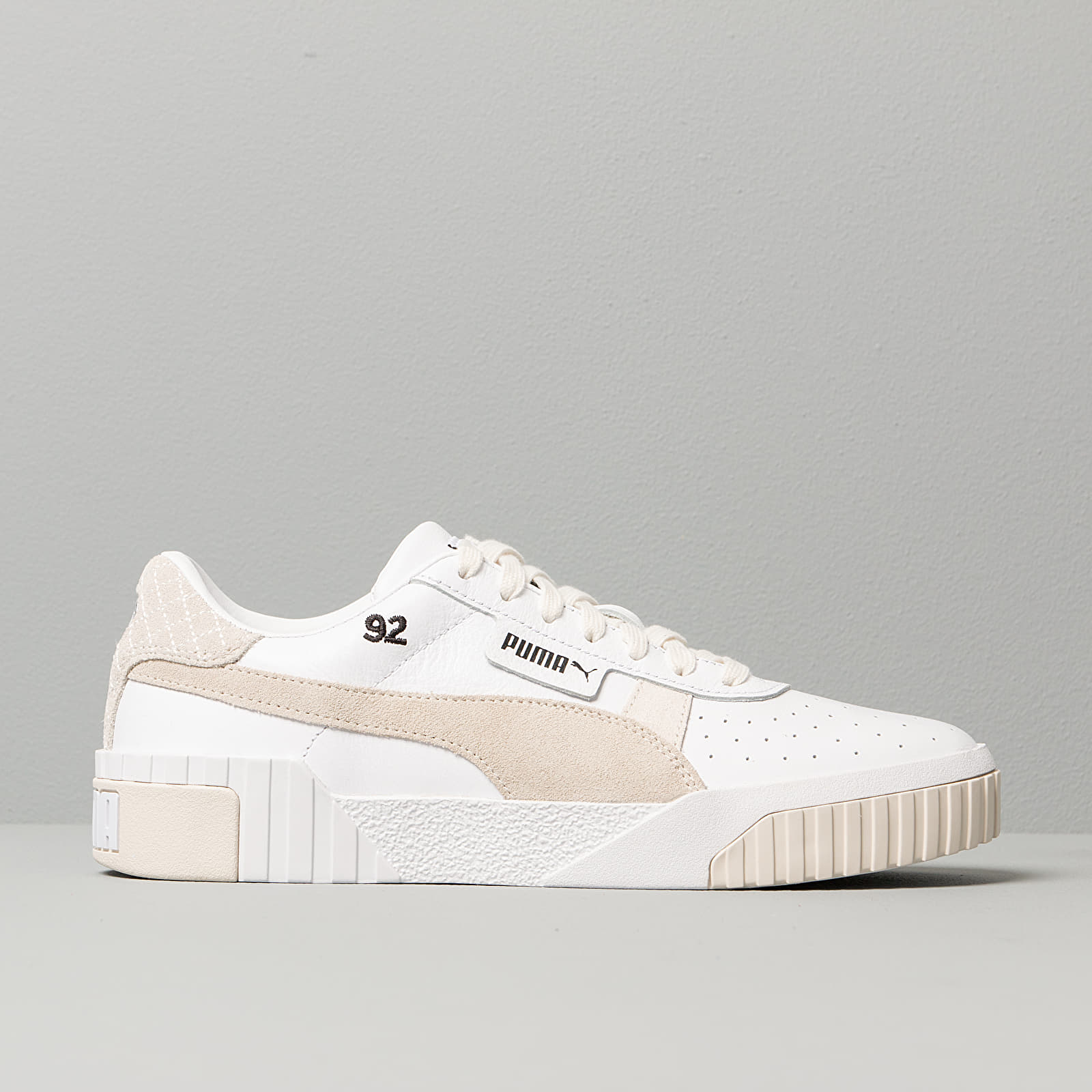 Puma x Selena Gomez Cali Leather Suede Puma White/ Silver Gray | Footshop