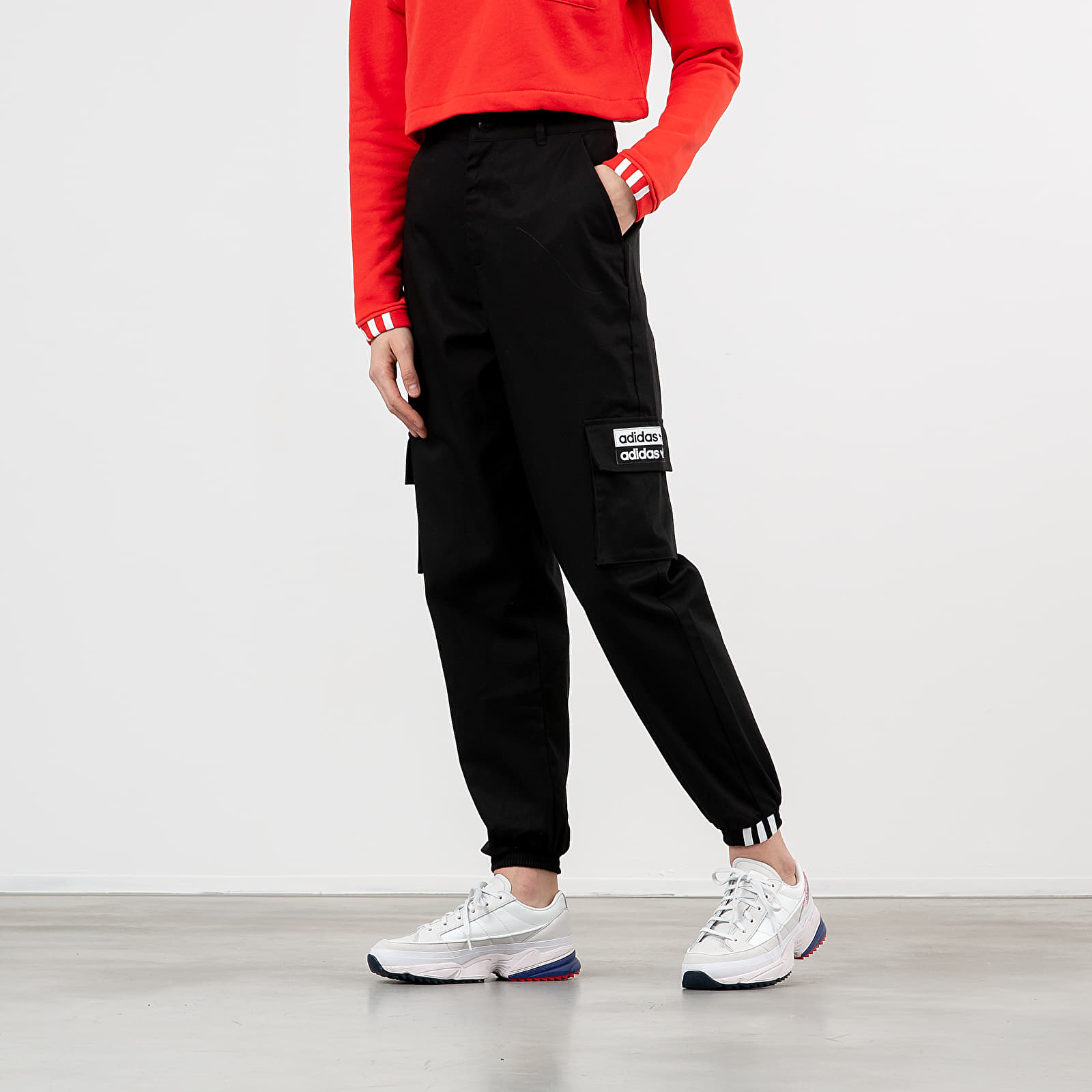 Pants and jeans adidas Track Pants Black