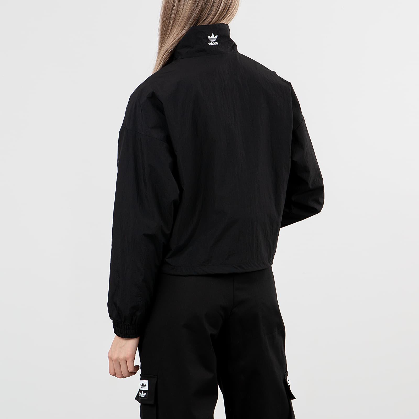 adidas Large Logo Tracktop Black White | Footshop