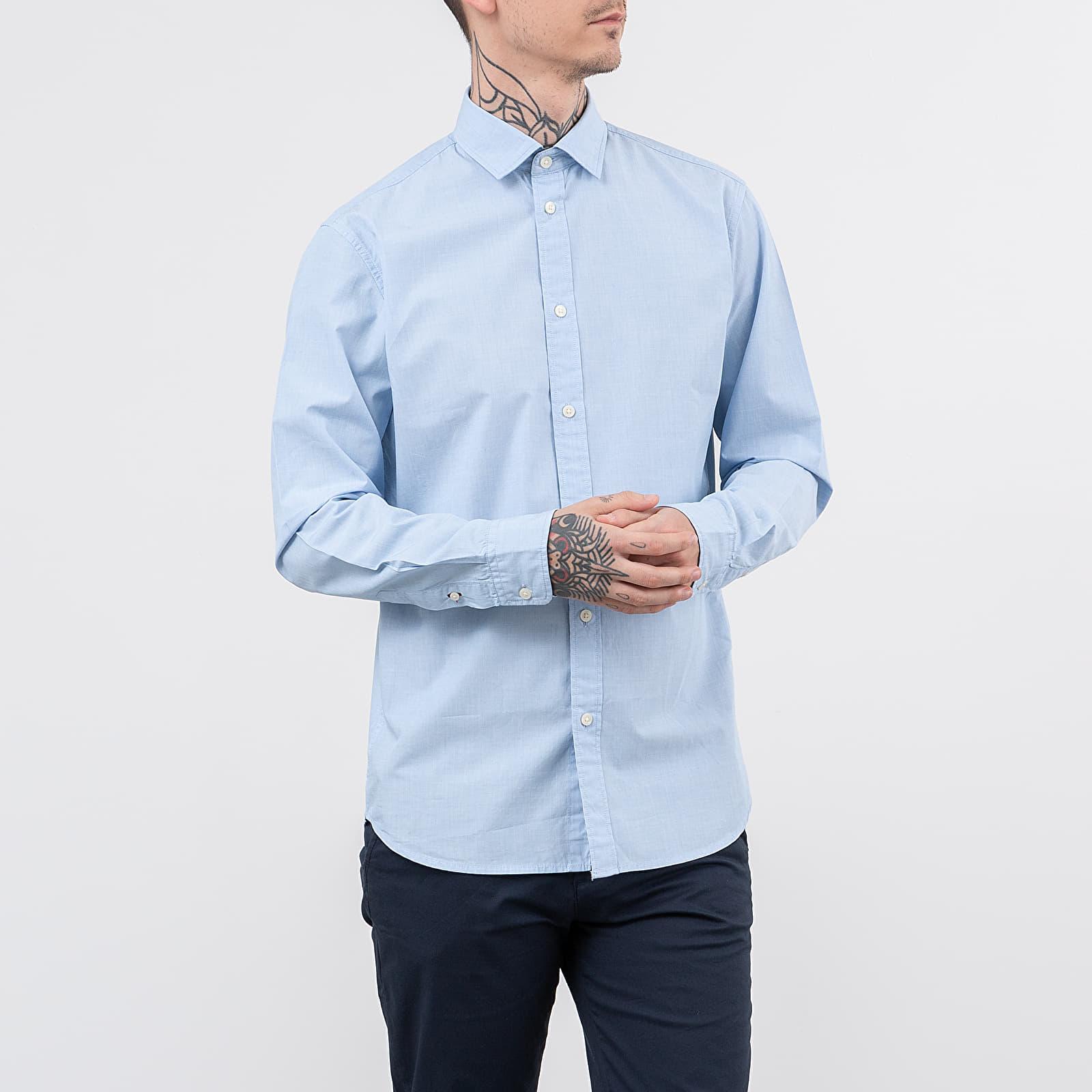 SELECTED Slimmark-Washed Long Sleeve Shirt
