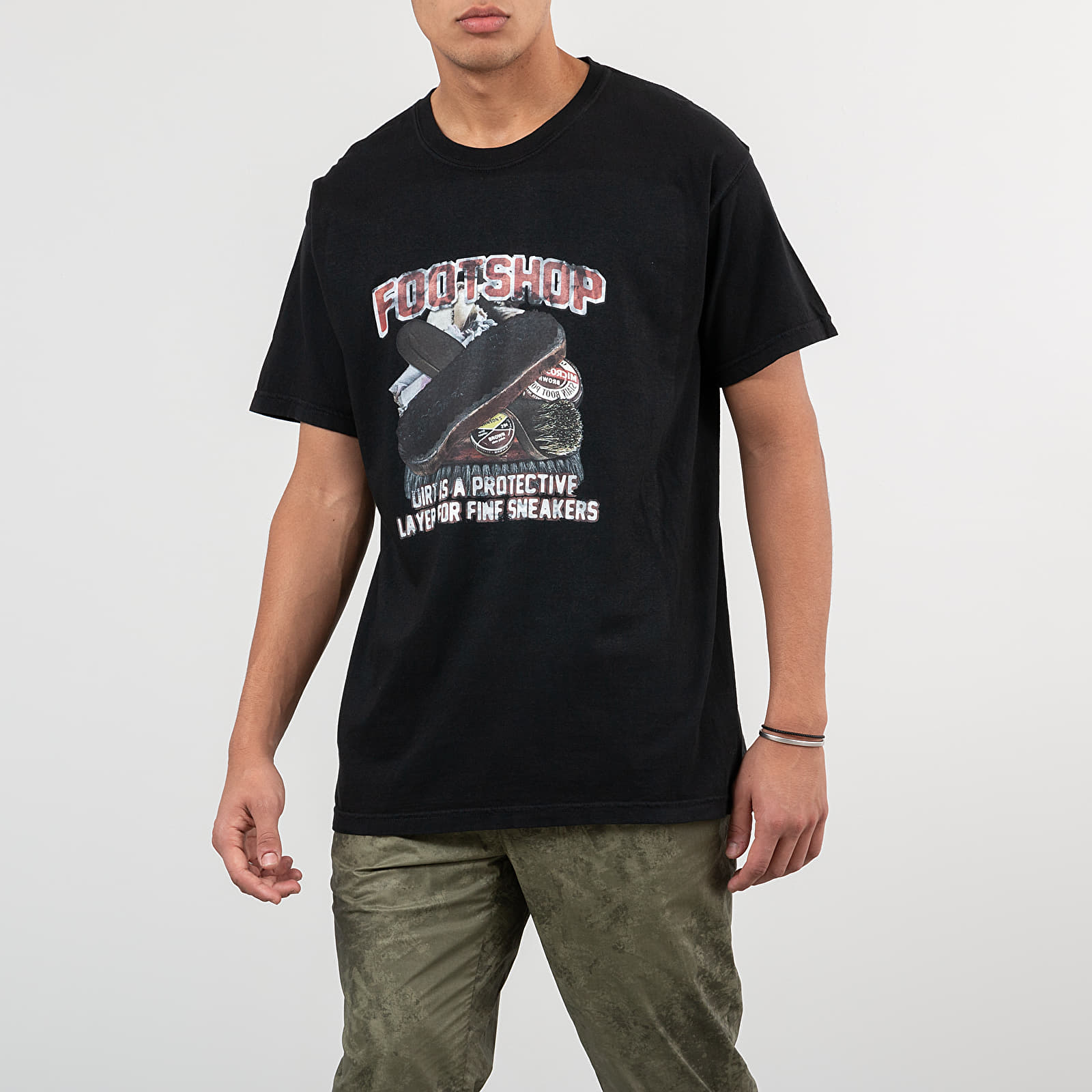 T-Shirts Footshop Cleaning Tee Black