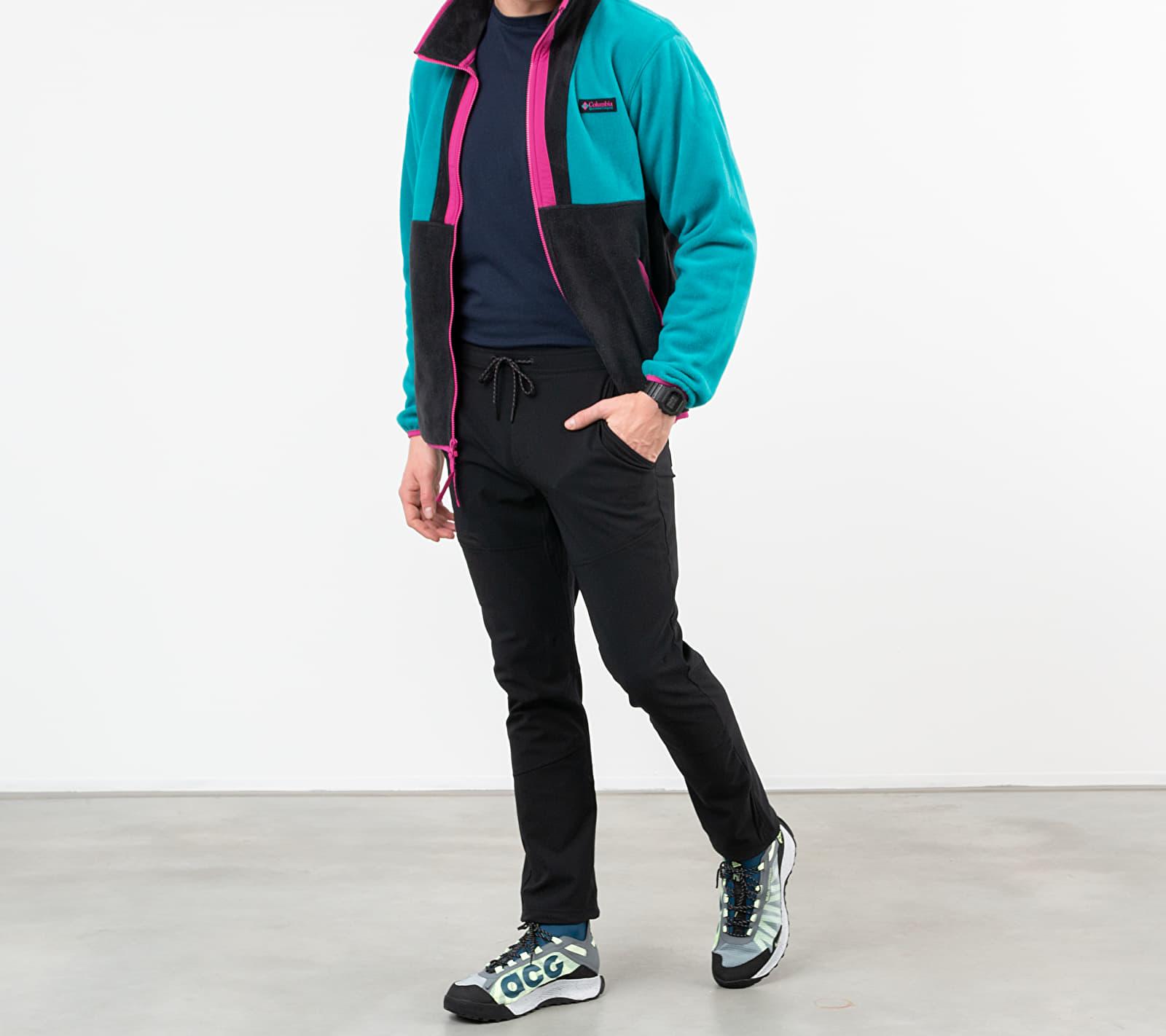 Columbia Back Bowl Full Zip Fleece Jacket Blue/ Black