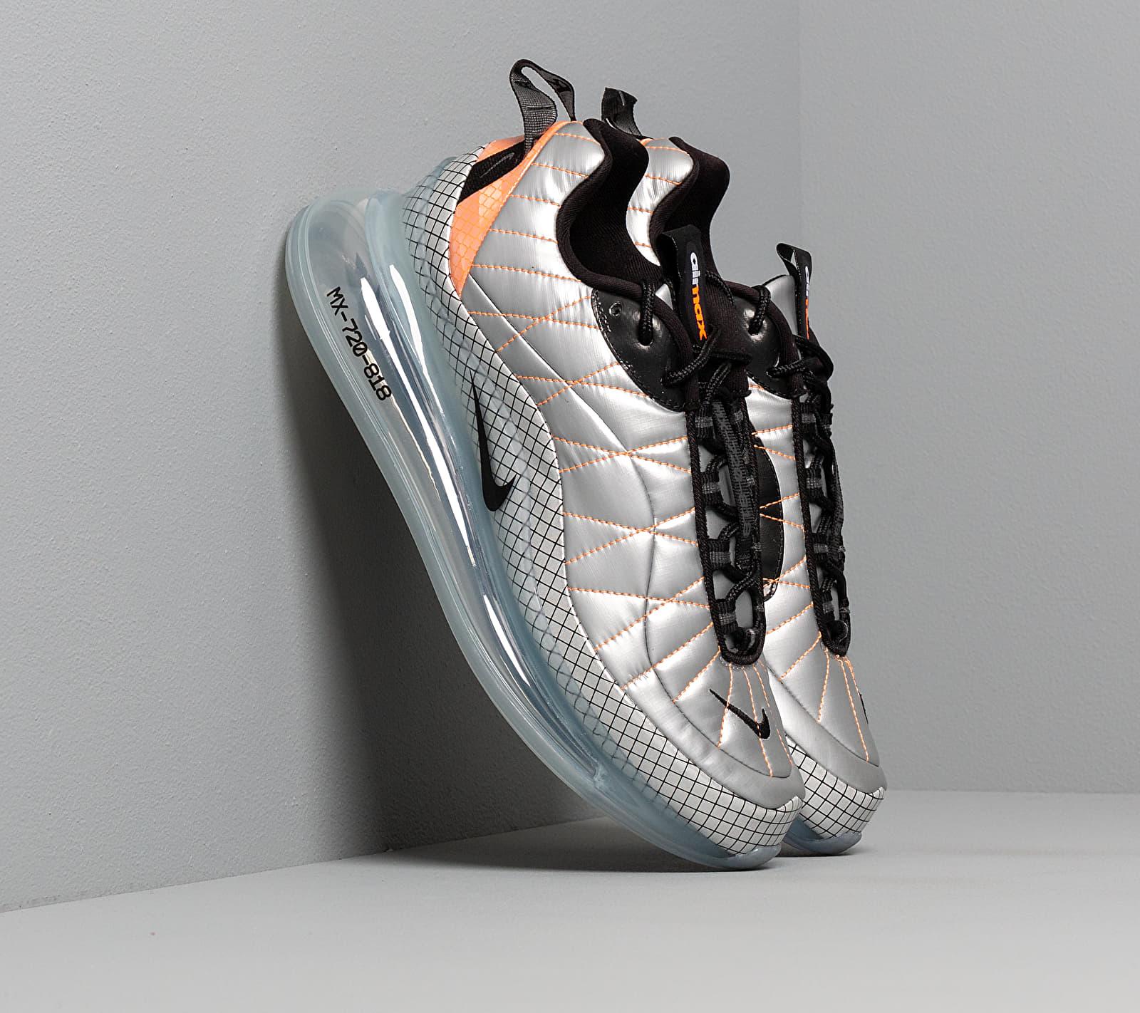 Nike Mx-720-818 Metallic Silver/ Black-Total Orange EUR 43