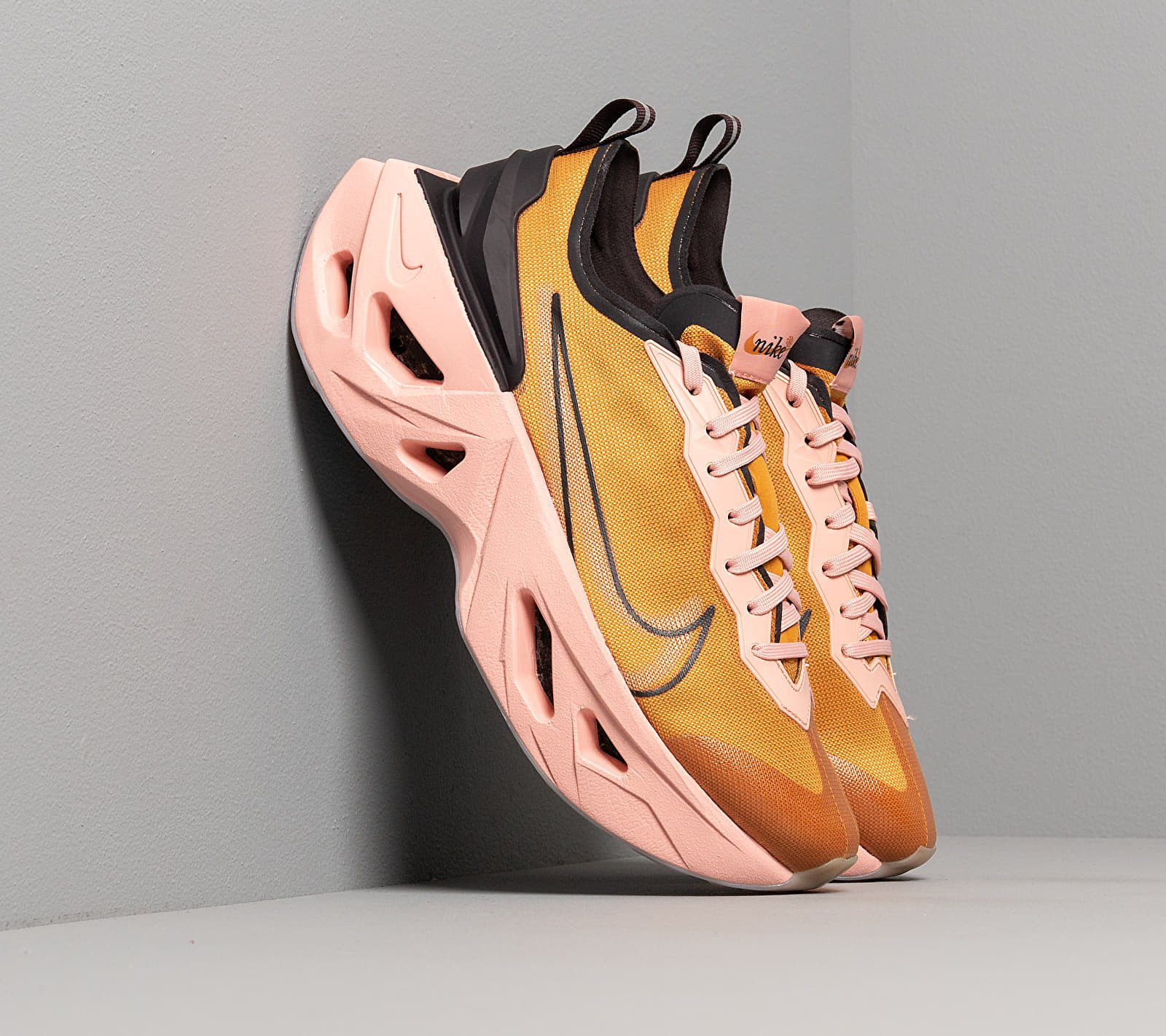 Nike W Zoom X Vista Grind Gold Suede/ Gold Suede-Oil Grey, Yellow