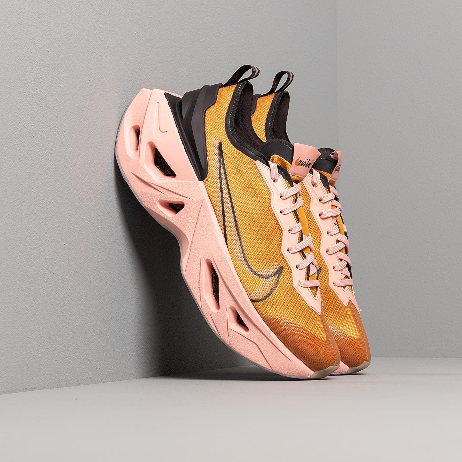 Women's shoes Nike W Zoom X Vista Grind Gold Suede/ Gold Suede-Oil Grey