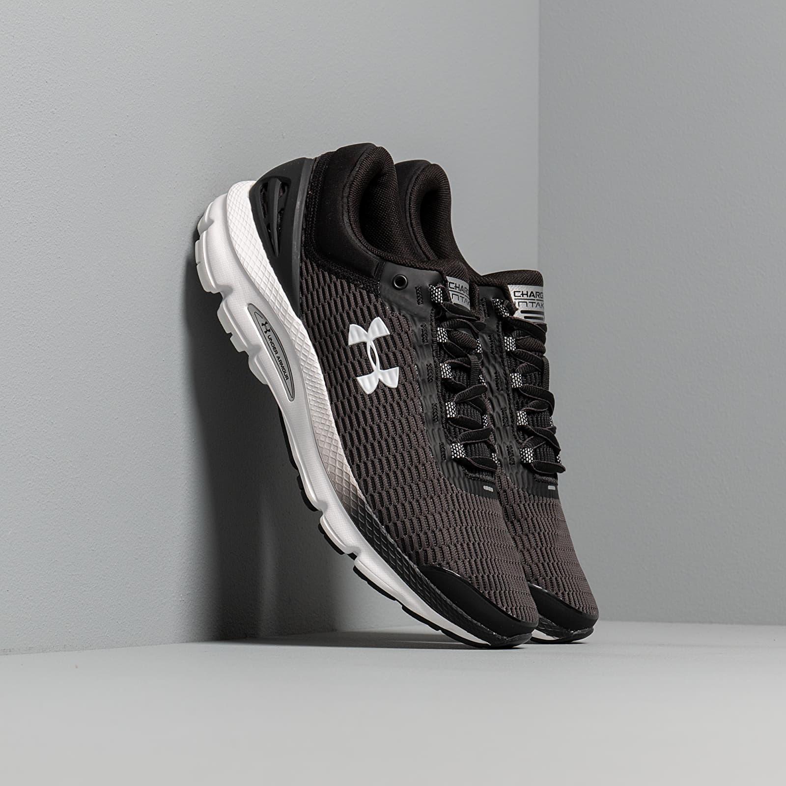 Ανδρικά παπούτσια Under Armour Charged Intake 3 Black/ White/ White