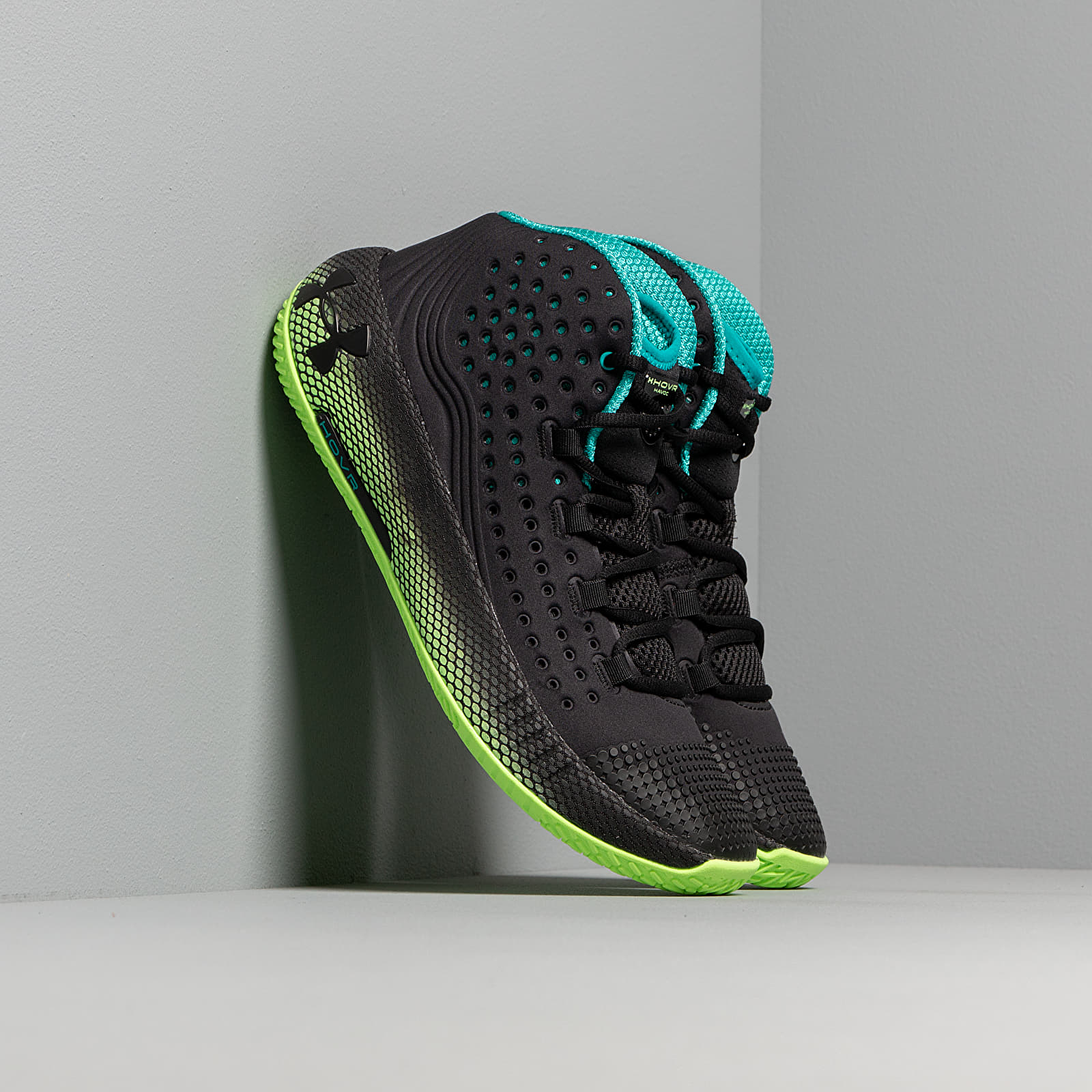 Scarpe e sneaker da uomo Under Armour HOVR Havoc 2 Black/ Lime Light/ Black