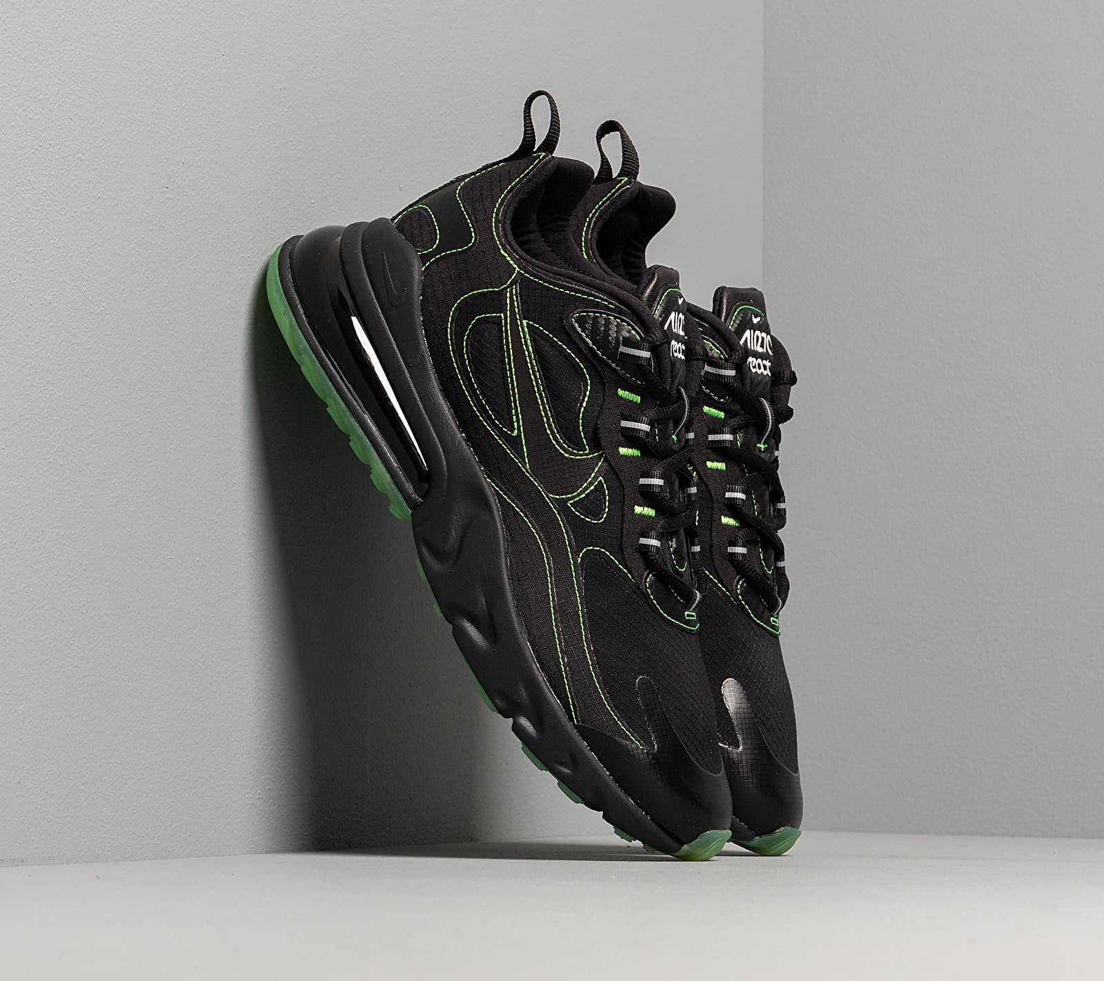 Nike Air Max 270 React Sp Black/ Black-Electric Green EUR 44.5