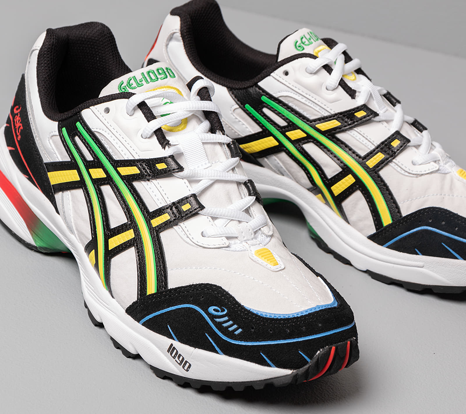 Asics GEL-1090 White/ Black EUR 42.5