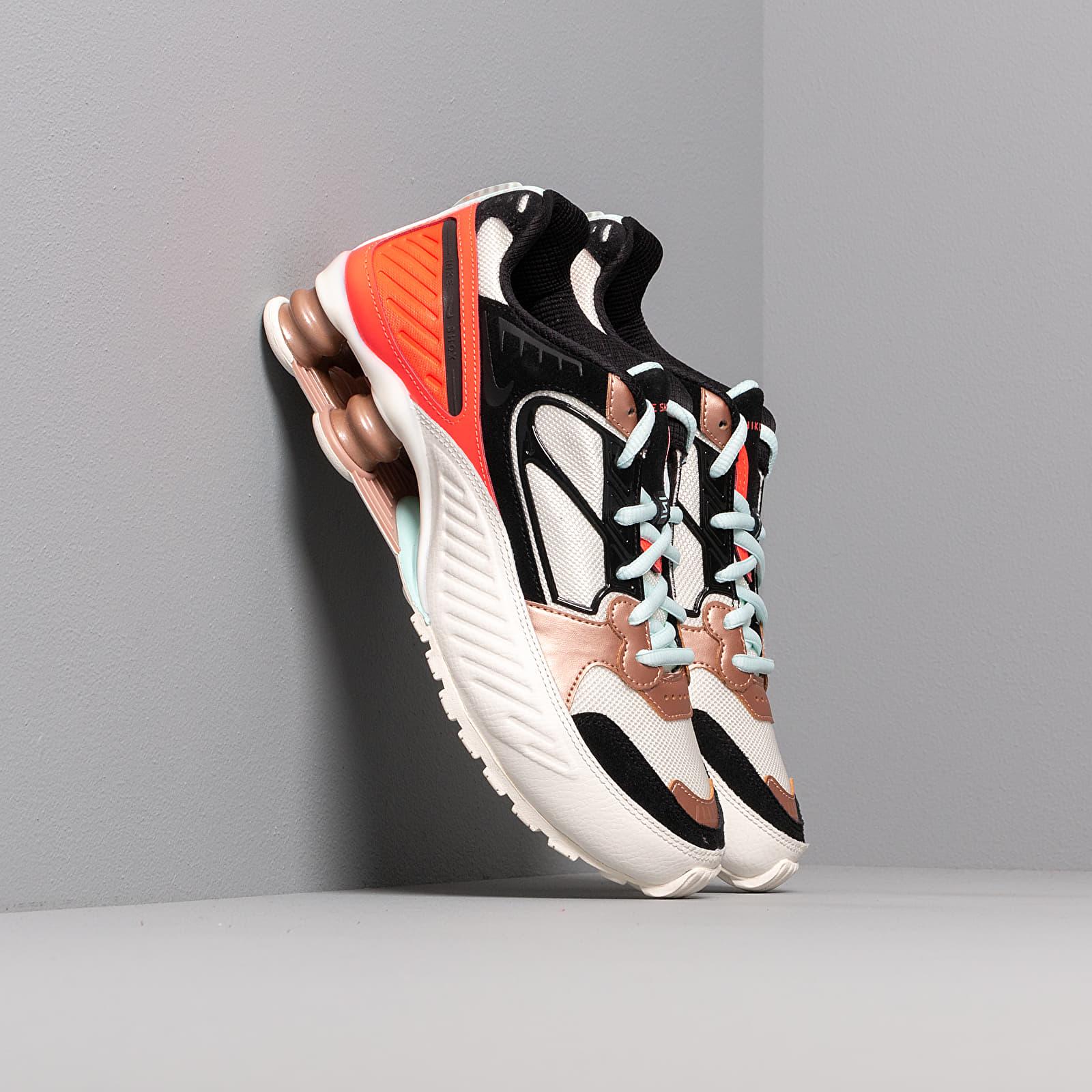 Női cipők Nike Wmns Shox Enigma Sail/ Black-Mtlc Red Bronze-Pure Platinum