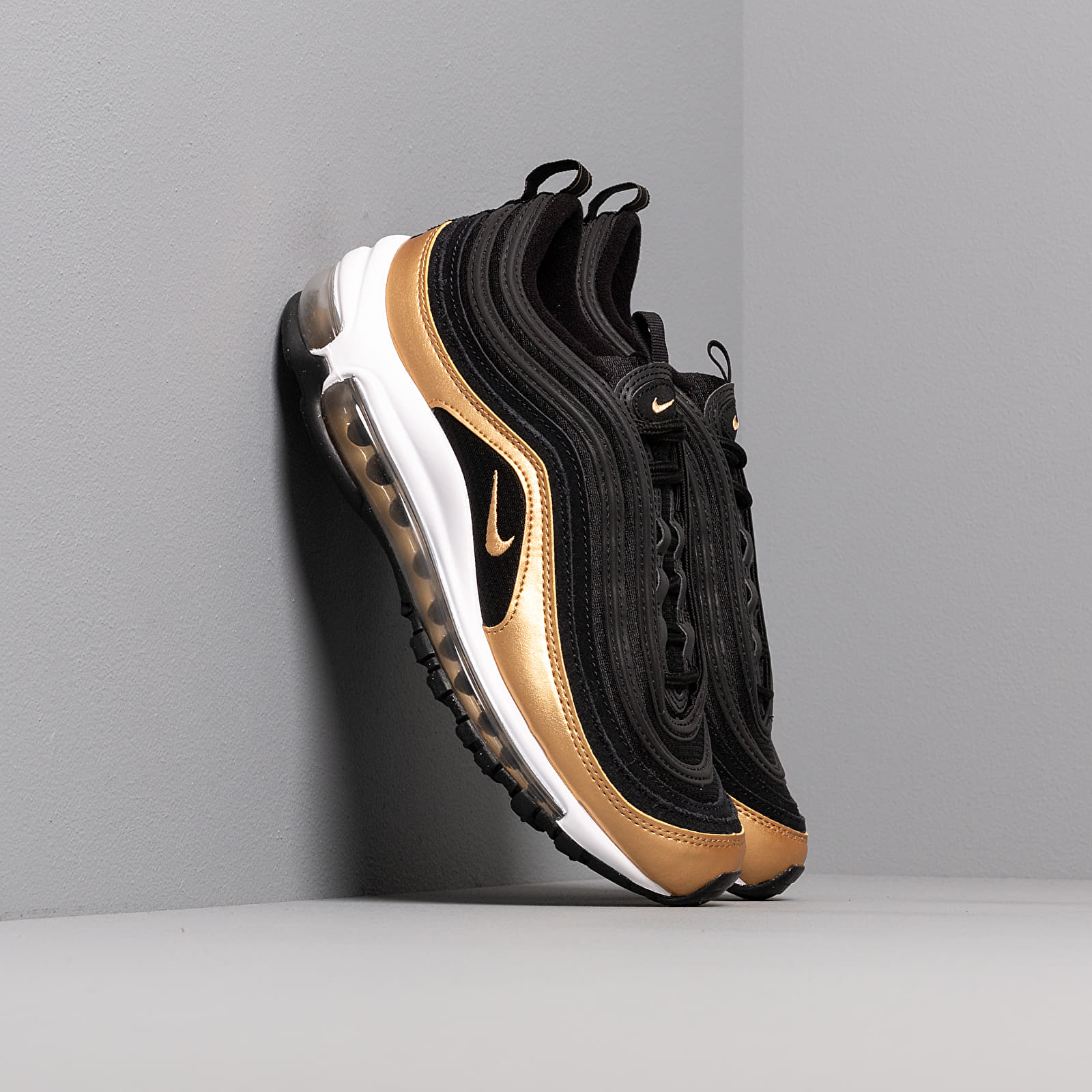 Women's shoes Nike Air Max 97 (GS) Black/ Metallic Gold