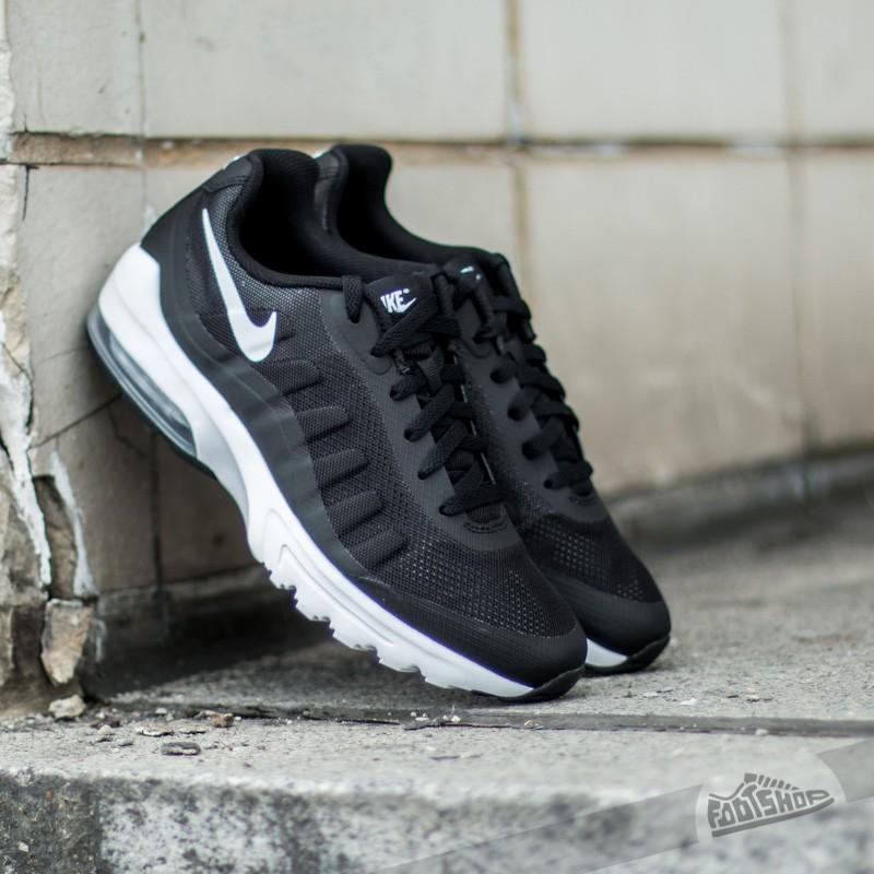 online store c73ea 206c5 Nike Air Max Invigor Black White